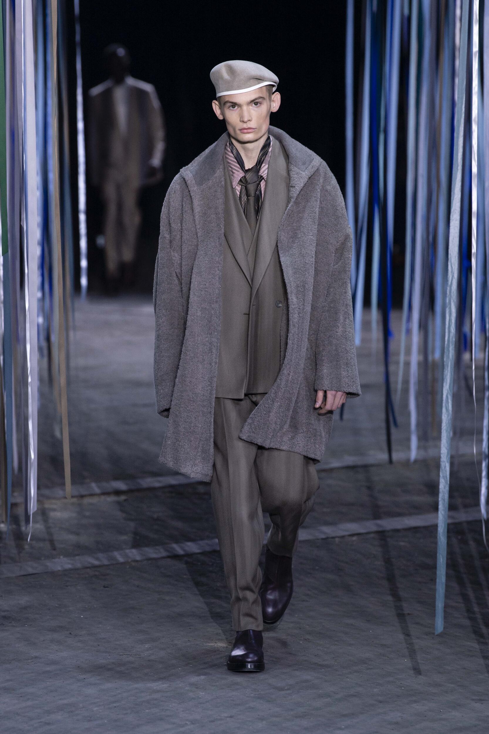 Fashion Model Ermenegildo Zegna XXX Catwalk