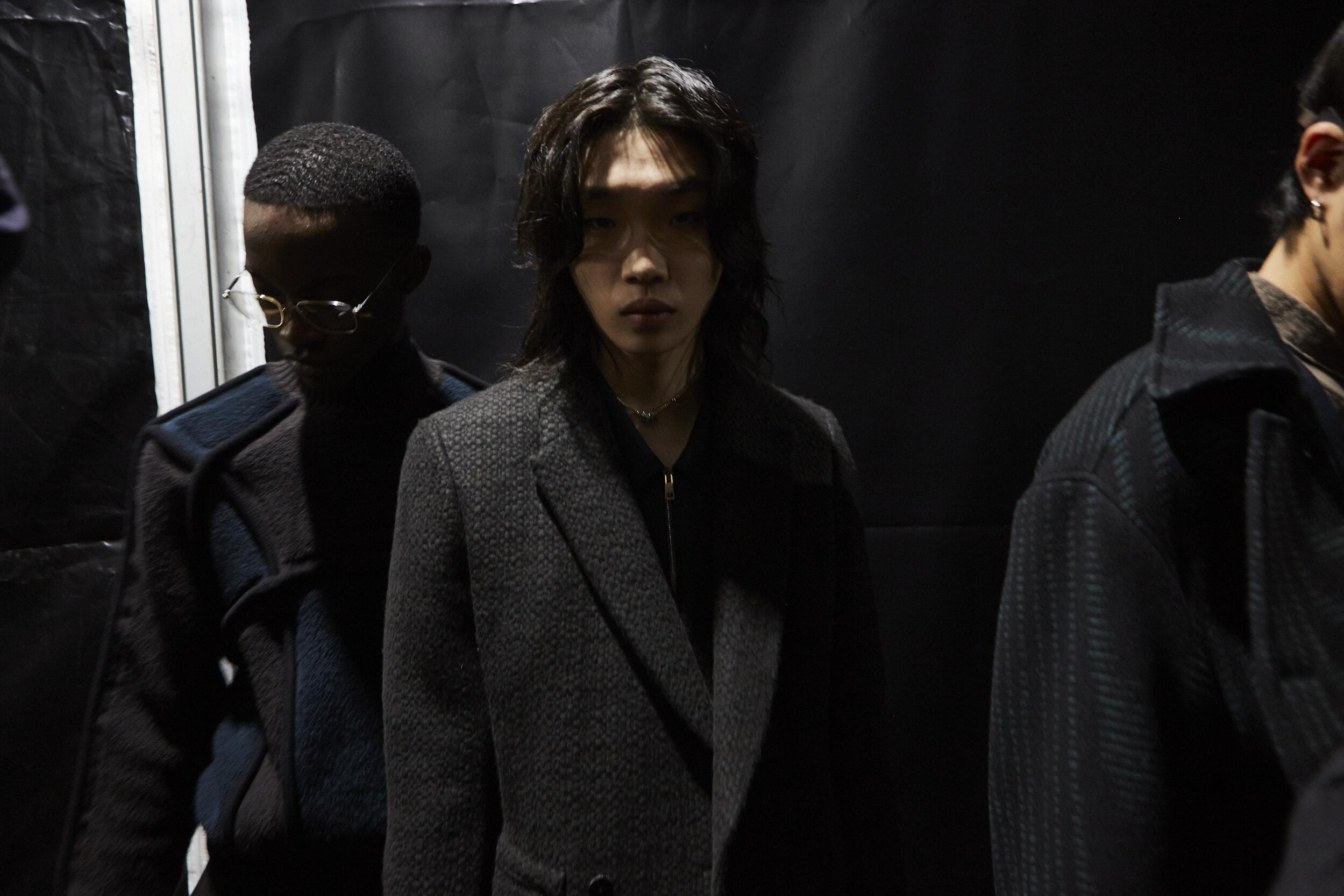 Fashion Models Backstage Ermenegildo Zegna XXX Fall Winter 2020 Collection