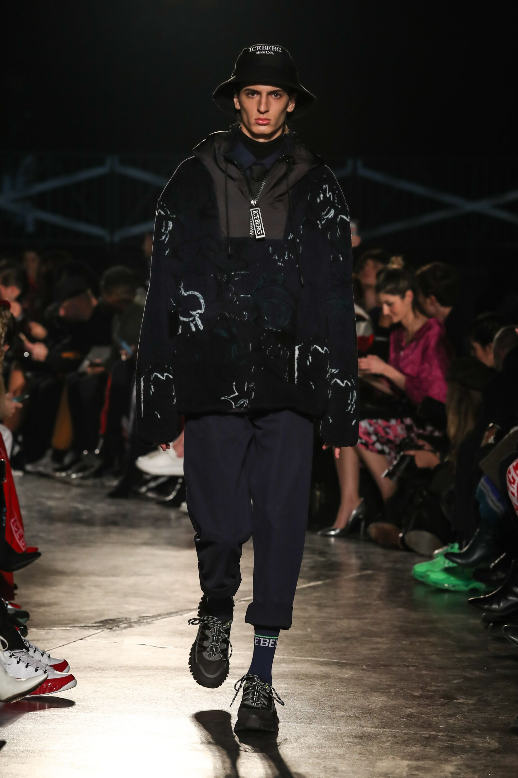 Fashion Show Man Model Iceberg Catwalk