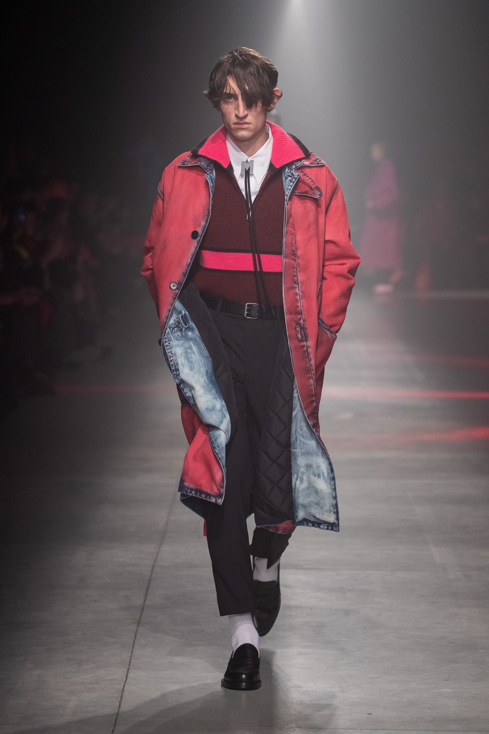 Fashion Show Man Model MSGM Catwalk