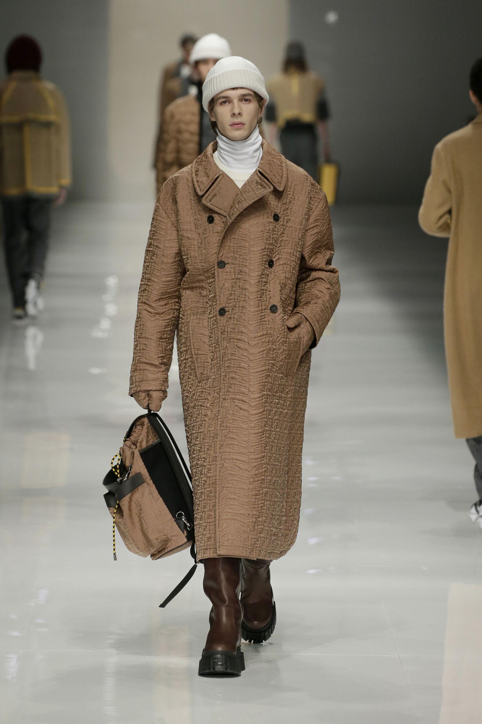 Fendi 2020 Milan Men Trends