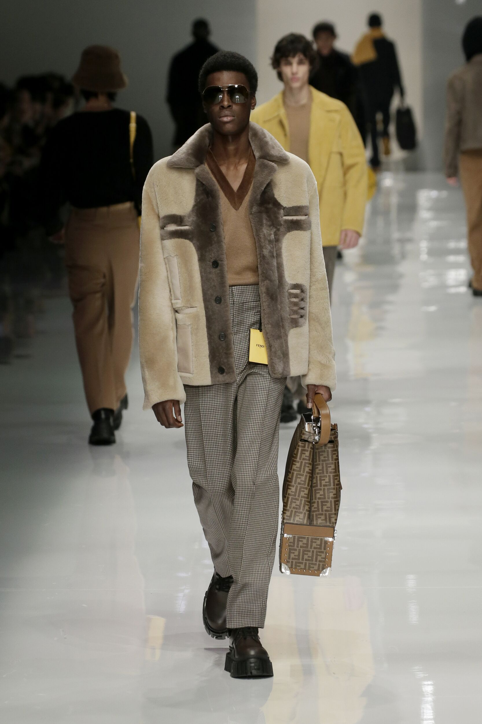Fendi Fall 2020 Catwalk