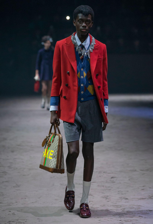 Gucci Menswear Fashion Show