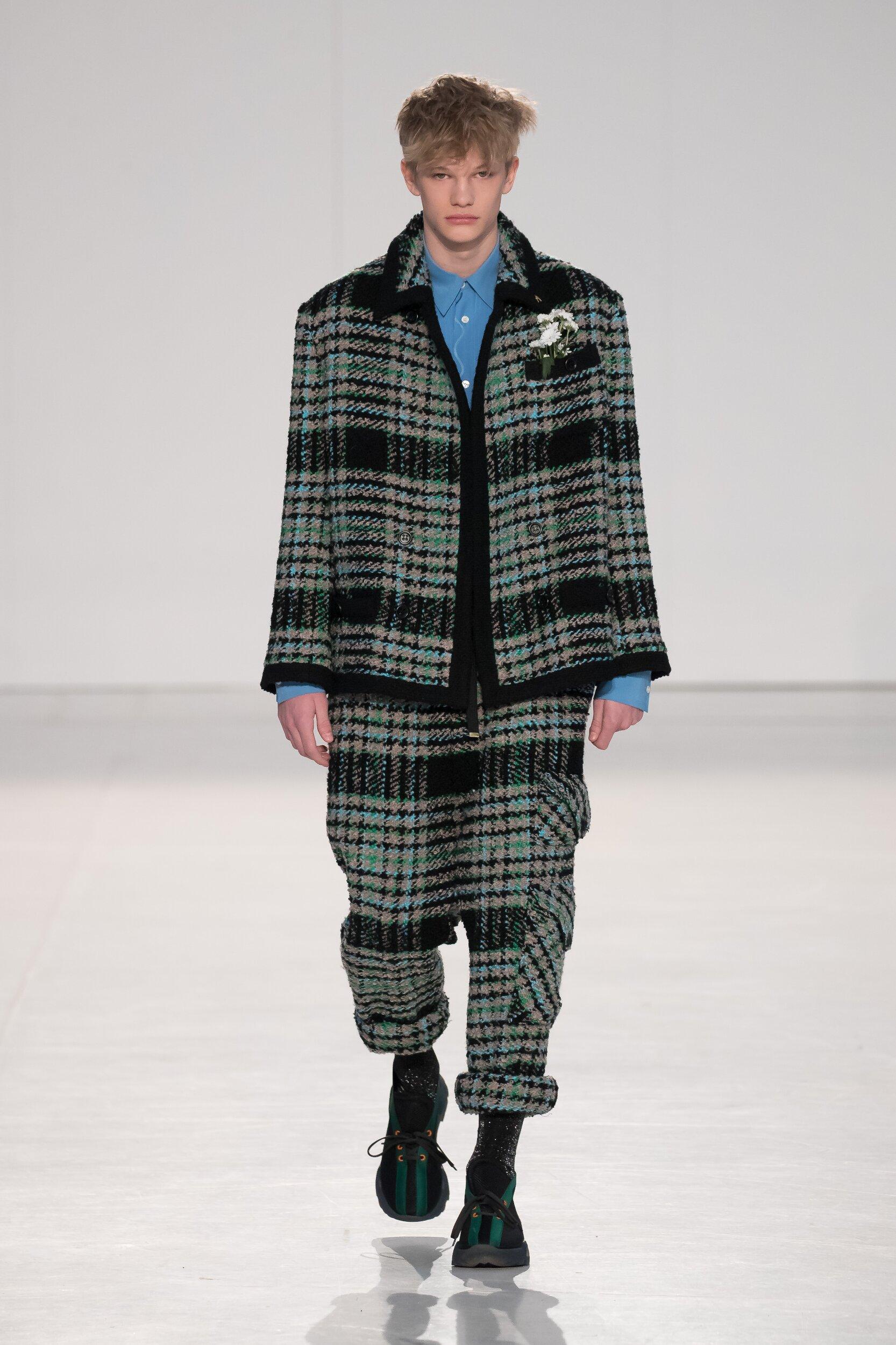 Marco De Vincenzo Milan Fashion Week Menswear Trends