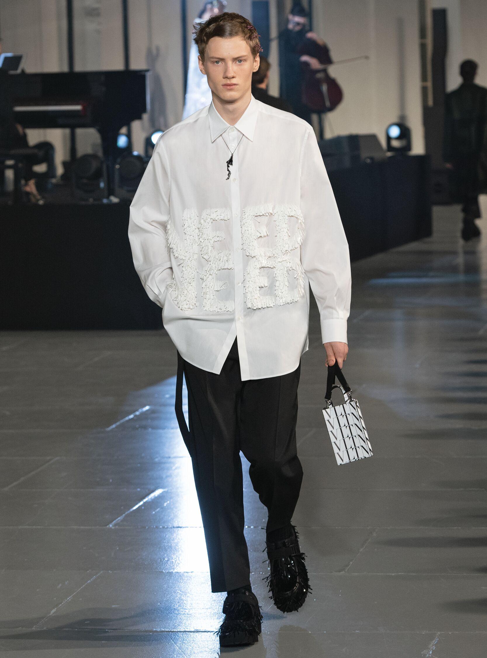 Menswear Fall Winter Valentino 2020 Trends