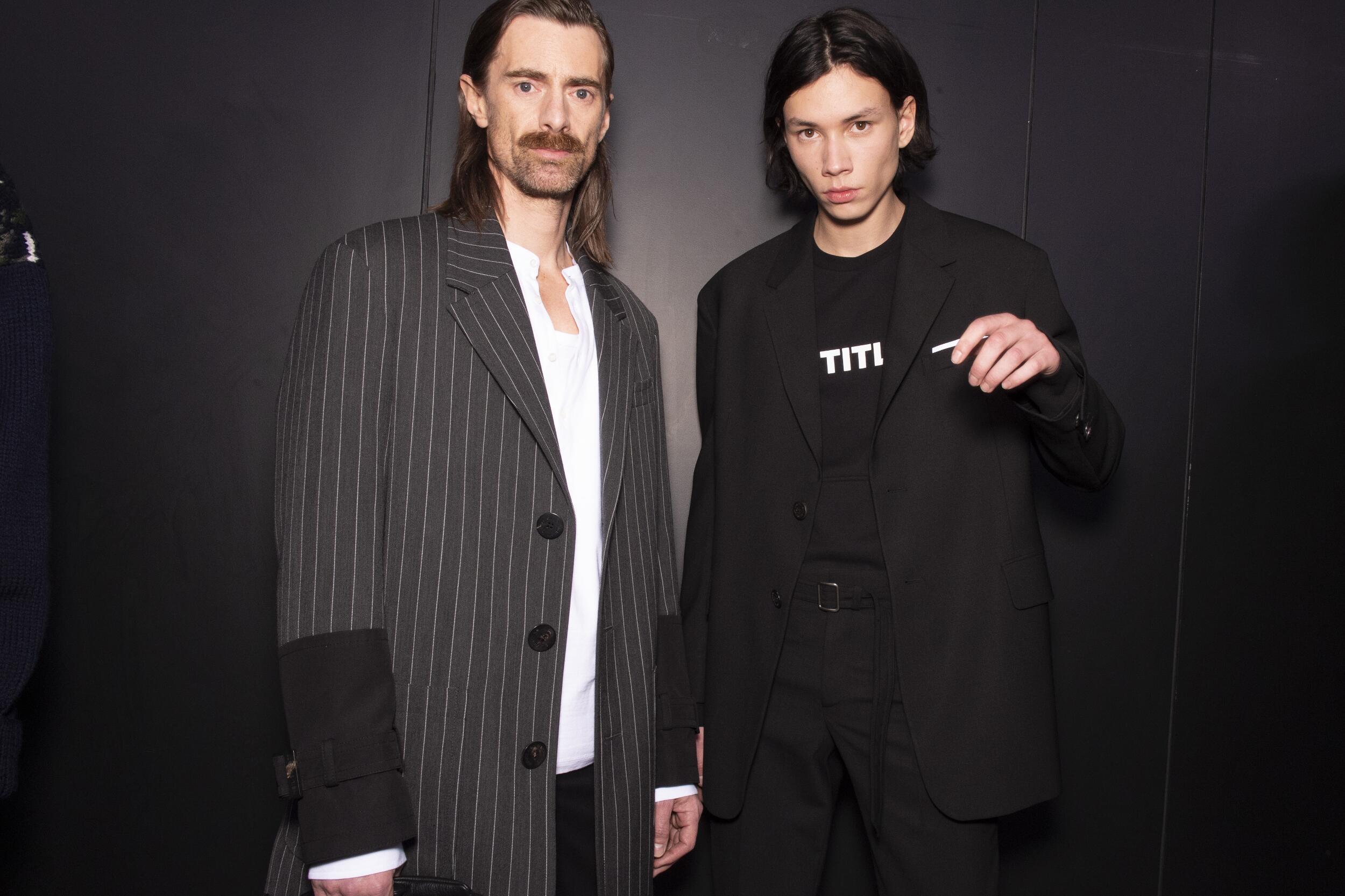 Menswear Trends Backstage Neil Barrett