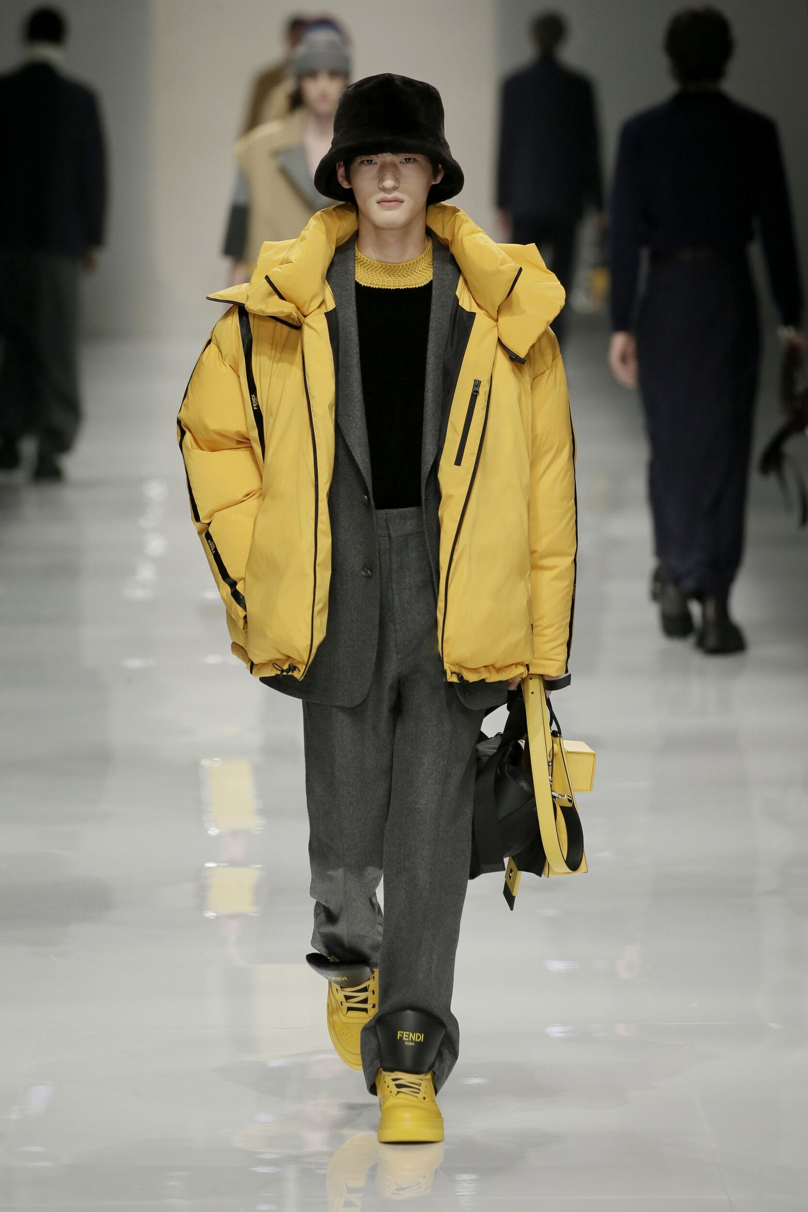 Menswear Winter Fendi 2020