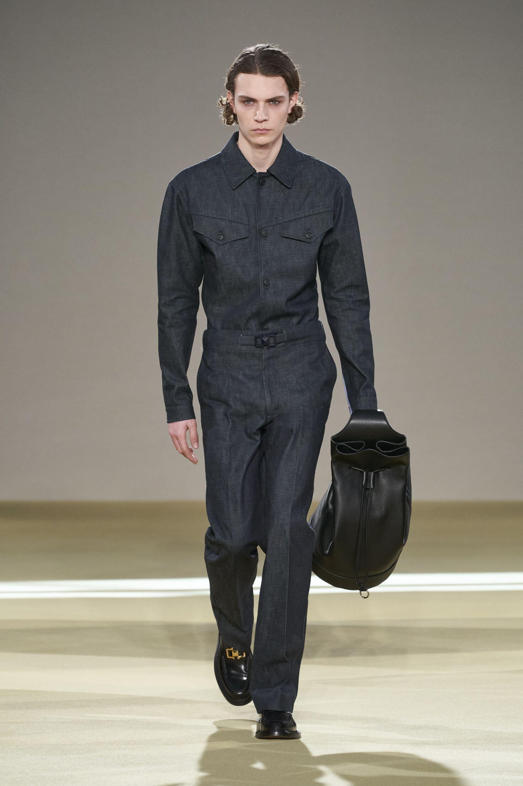 Model Fashion Show Salvatore Ferragamo