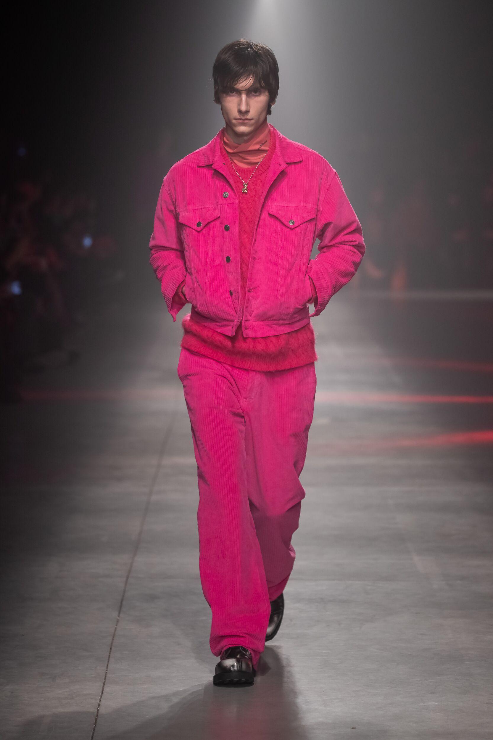 MSGM Menswear Fashion Show