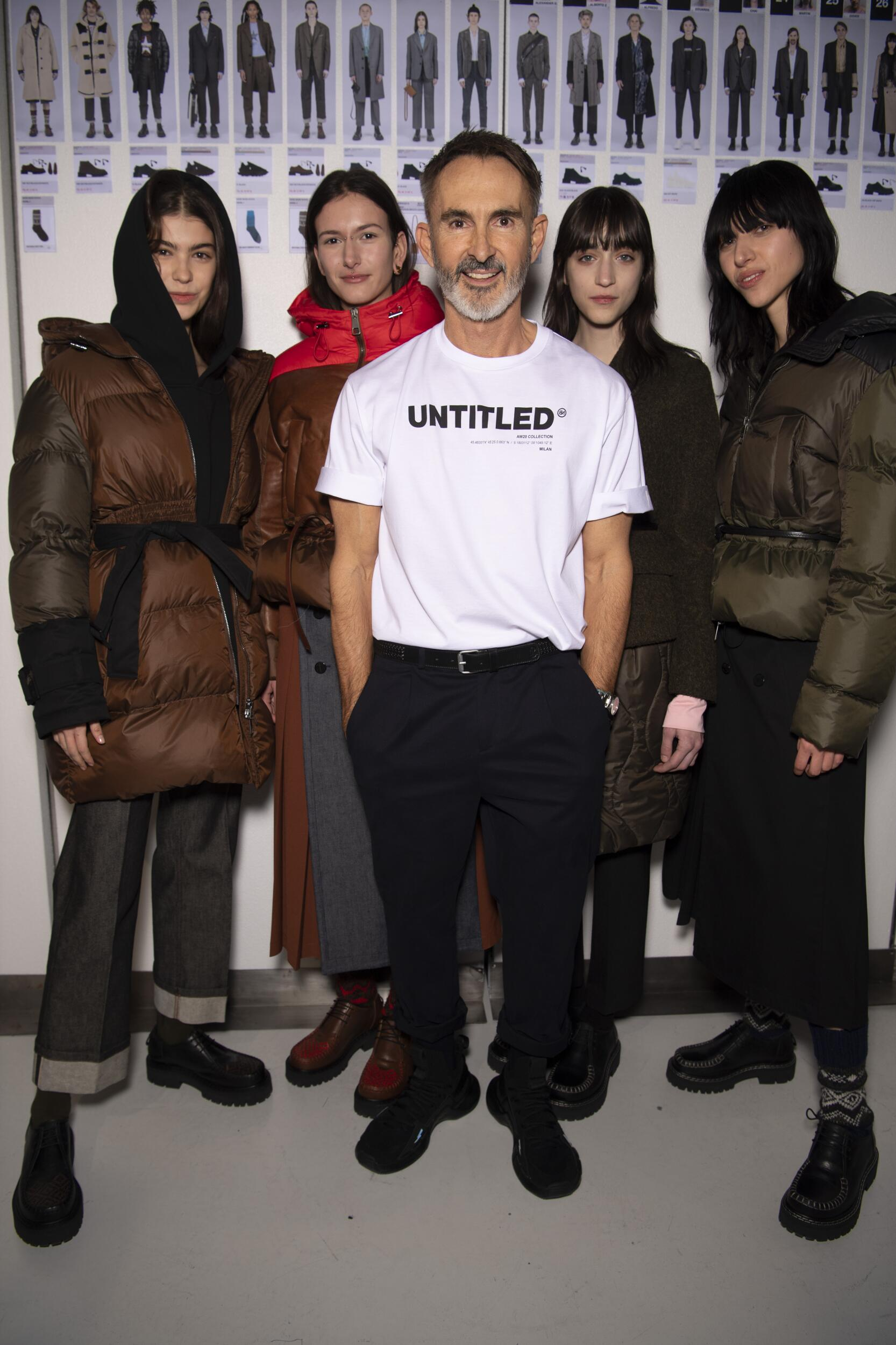 Neil Barrett and Models