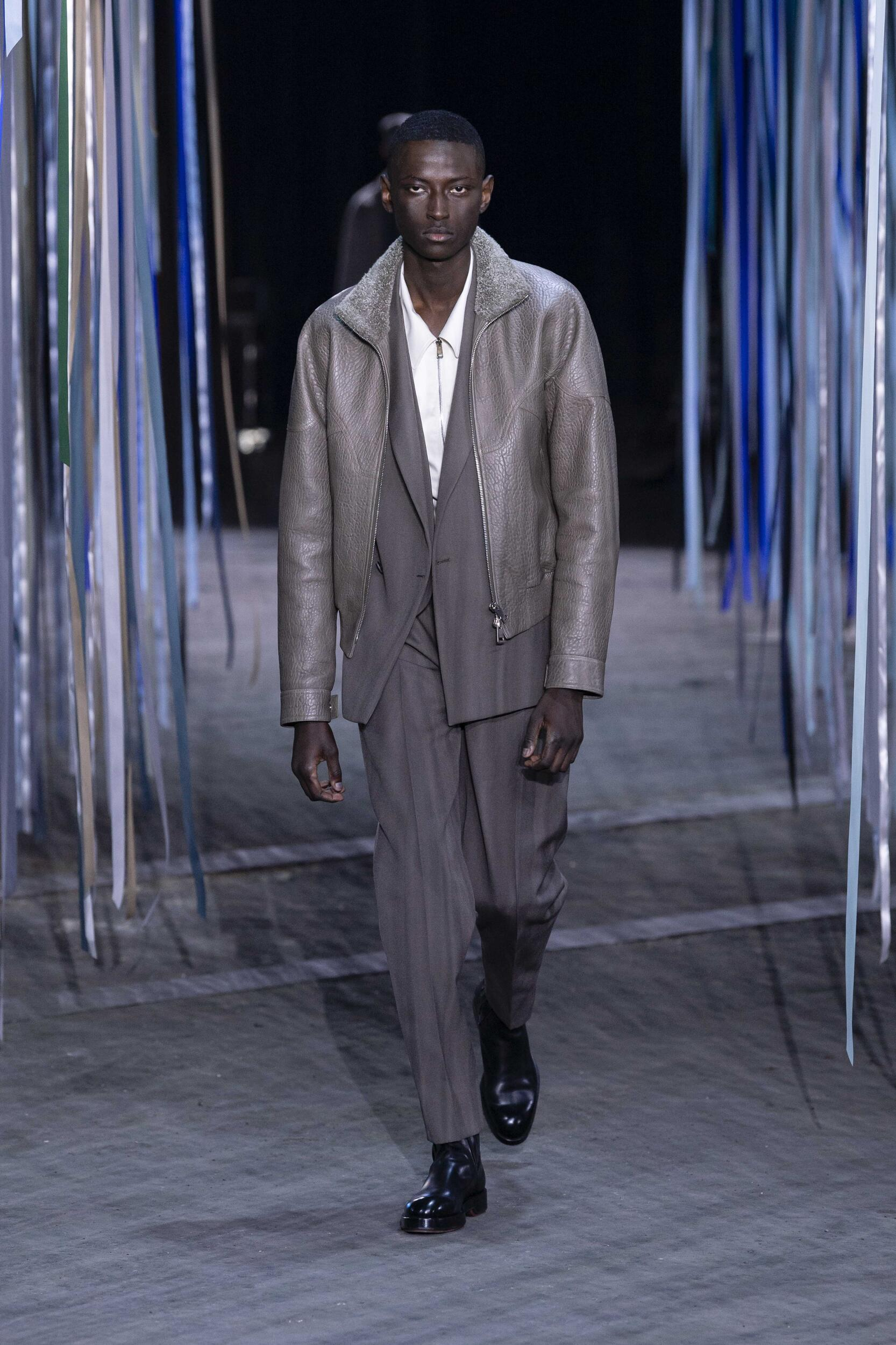 Runway Ermenegildo Zegna XXX Fall Winter 2020 Men's Collection Milan Fashion Week