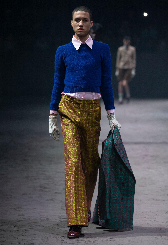 Runway Gucci Fall Winter 2020 Men's Collection Milan Fashion Week