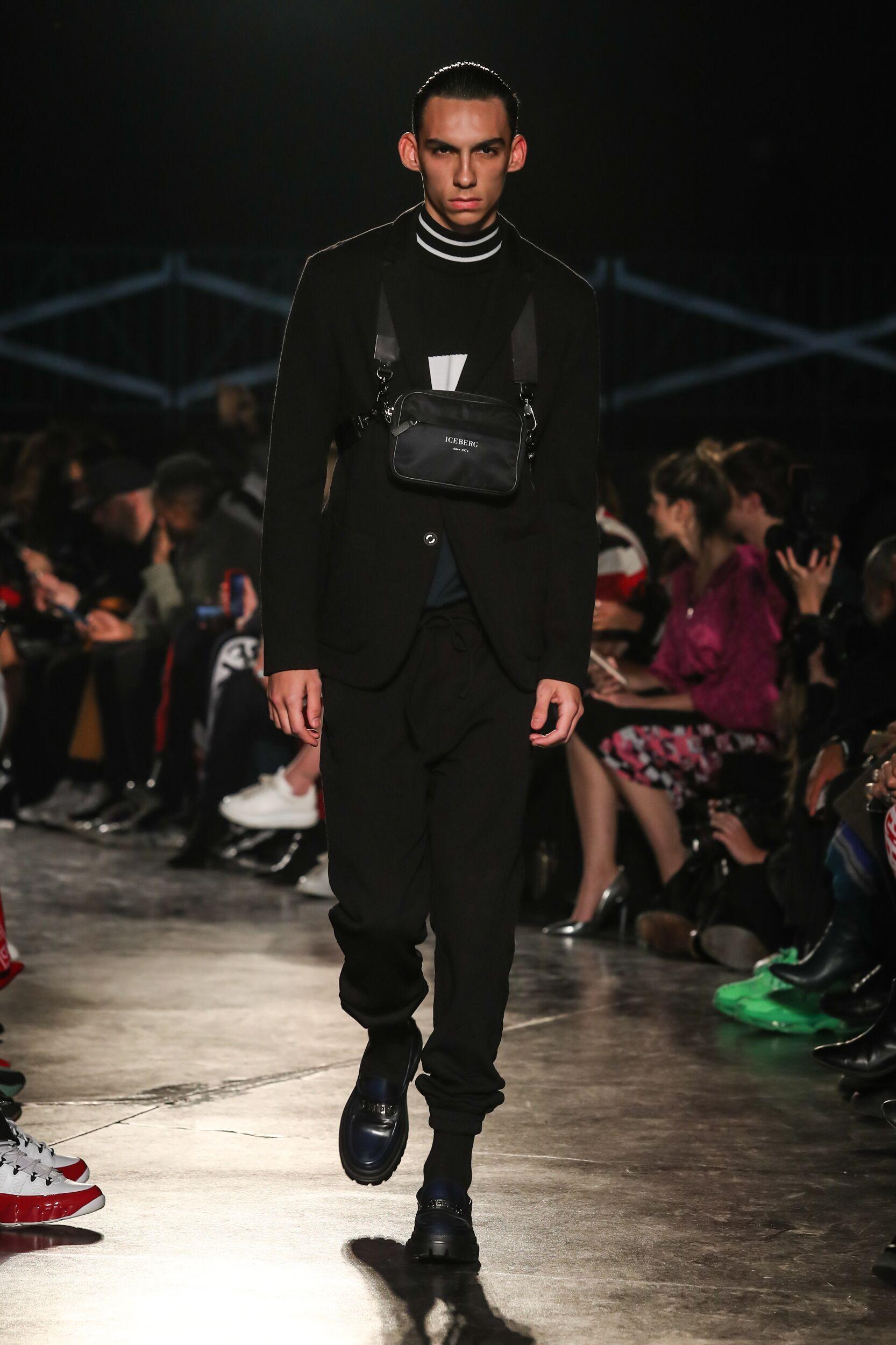 Runway Iceberg Fall Winter 2020 Men's Collection Milan Fashion Week