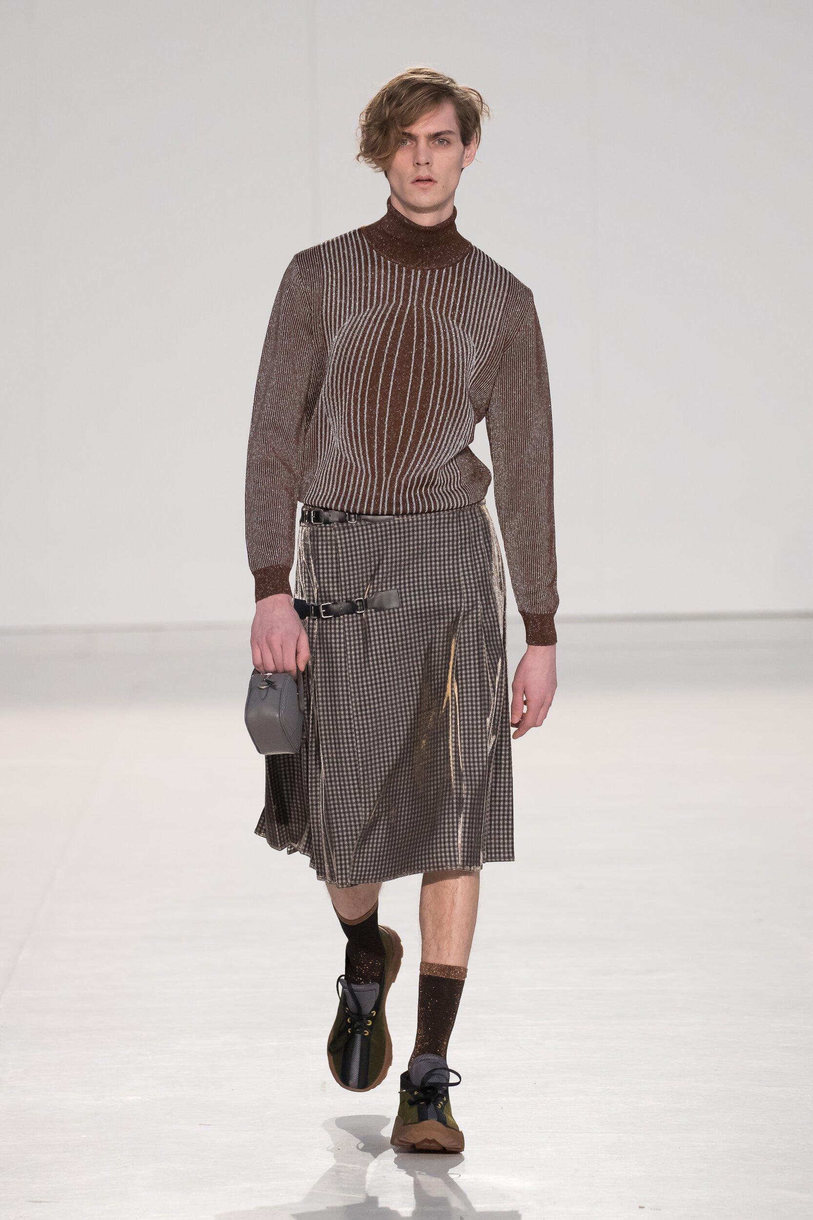 Runway Marco De Vincenzo Fall Winter 2020 Men's Collection Milan Fashion Week