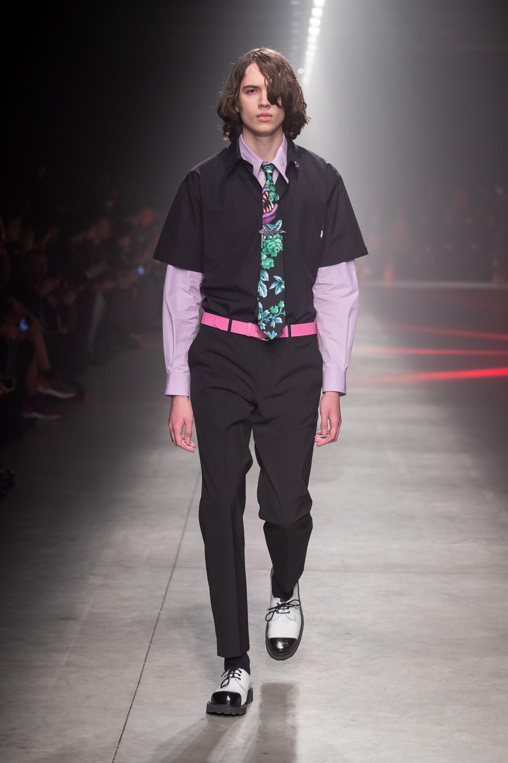 Runway MSGM Fall Winter 2020 Men's Collection Milan Fashion Week