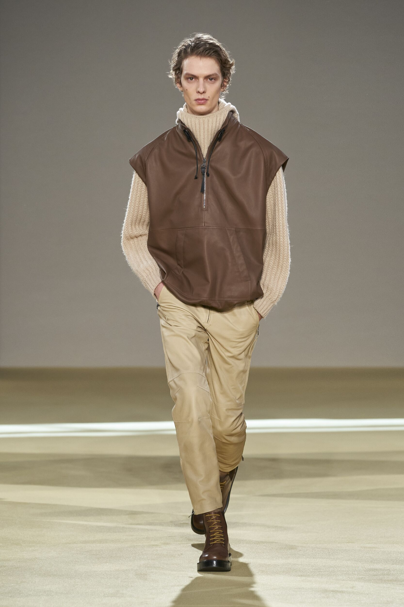 Runway Salvatore Ferragamo Fall Winter 2020 Men's Collection Milan Fashion Week