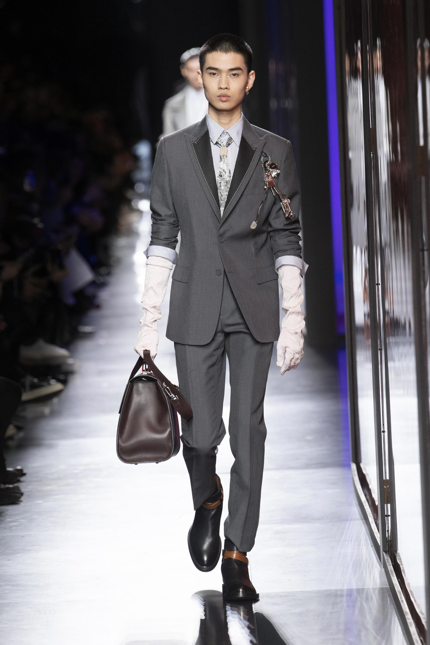 2020 Catwalk Dior Man Fashion Show Winter