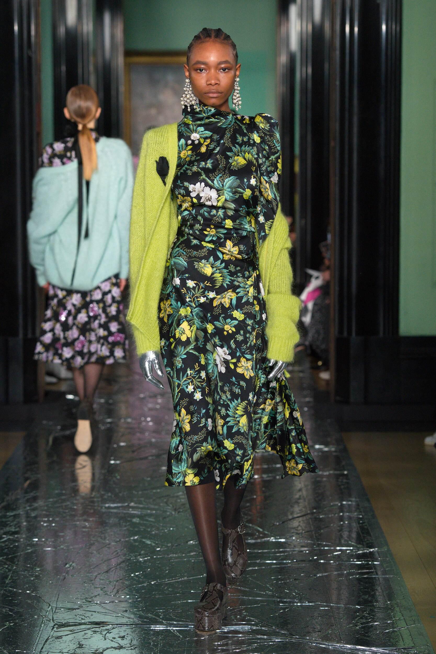 2020 Catwalk Erdem Woman Fashion Show Winter
