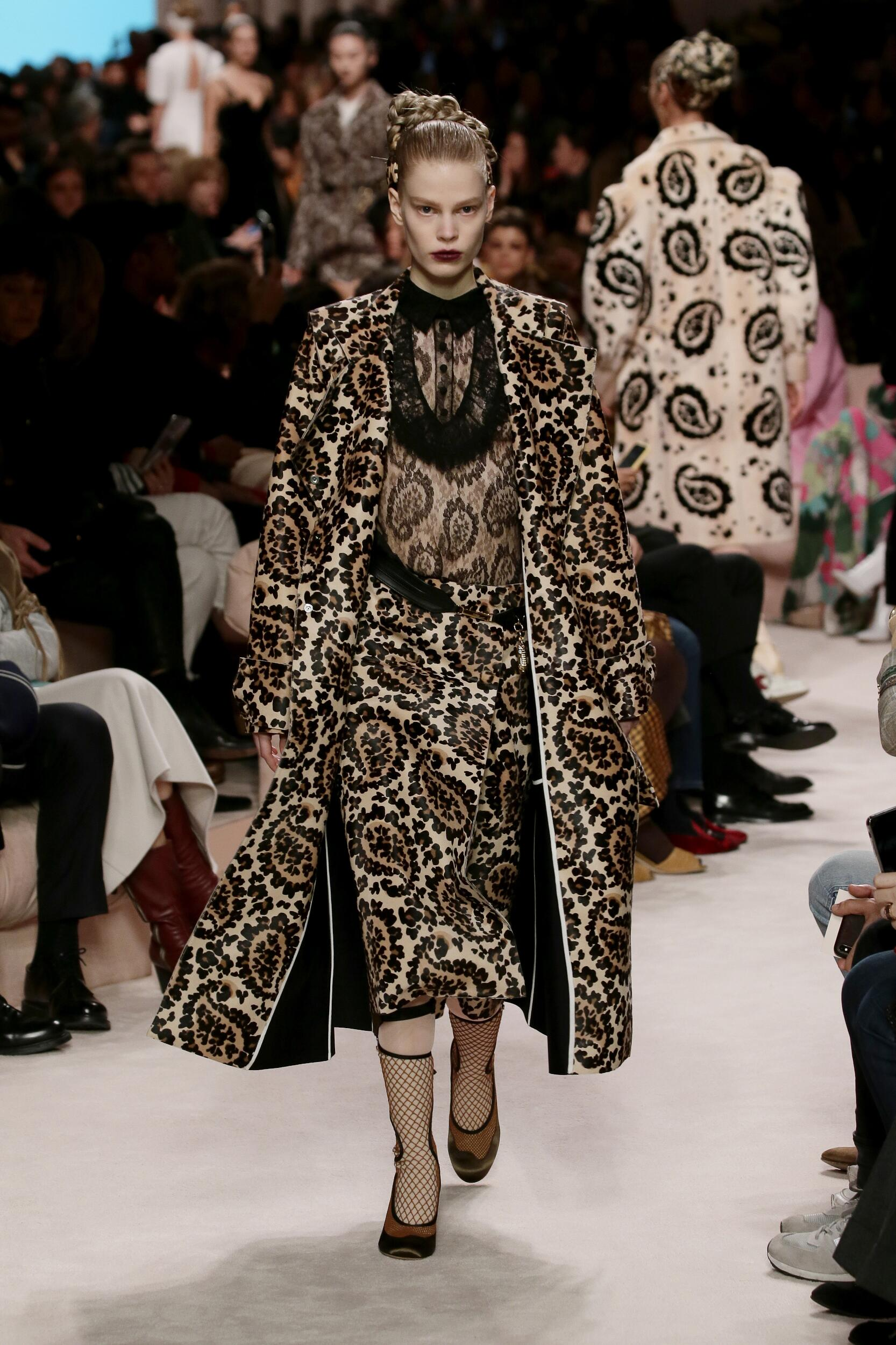 2020 Catwalk Fendi Winter