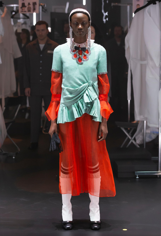 2020 Catwalk Gucci Woman Fashion Show Winter