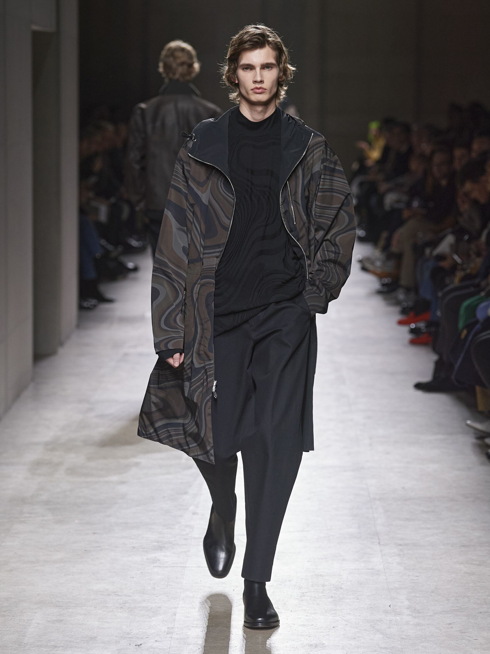 2020 Catwalk Hermès Man Fashion Show Winter