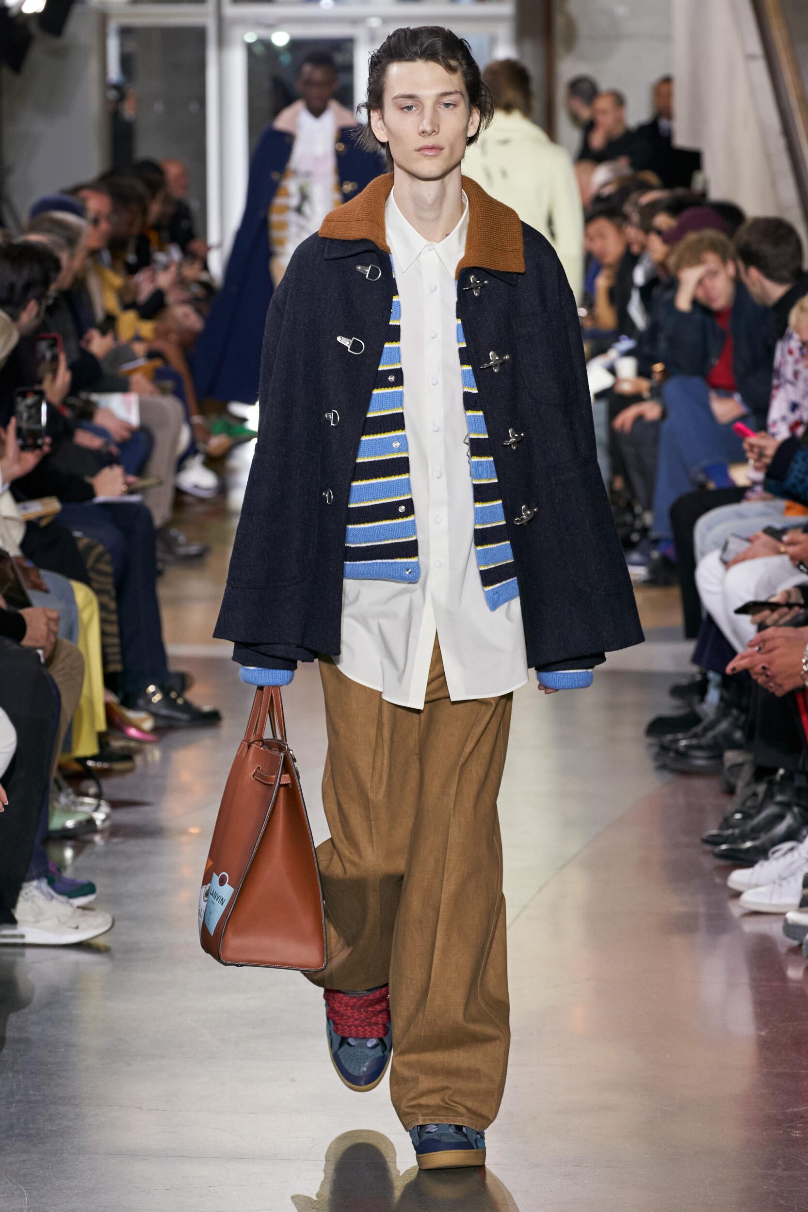 2020 Catwalk Lanvin Man Fashion Show Winter