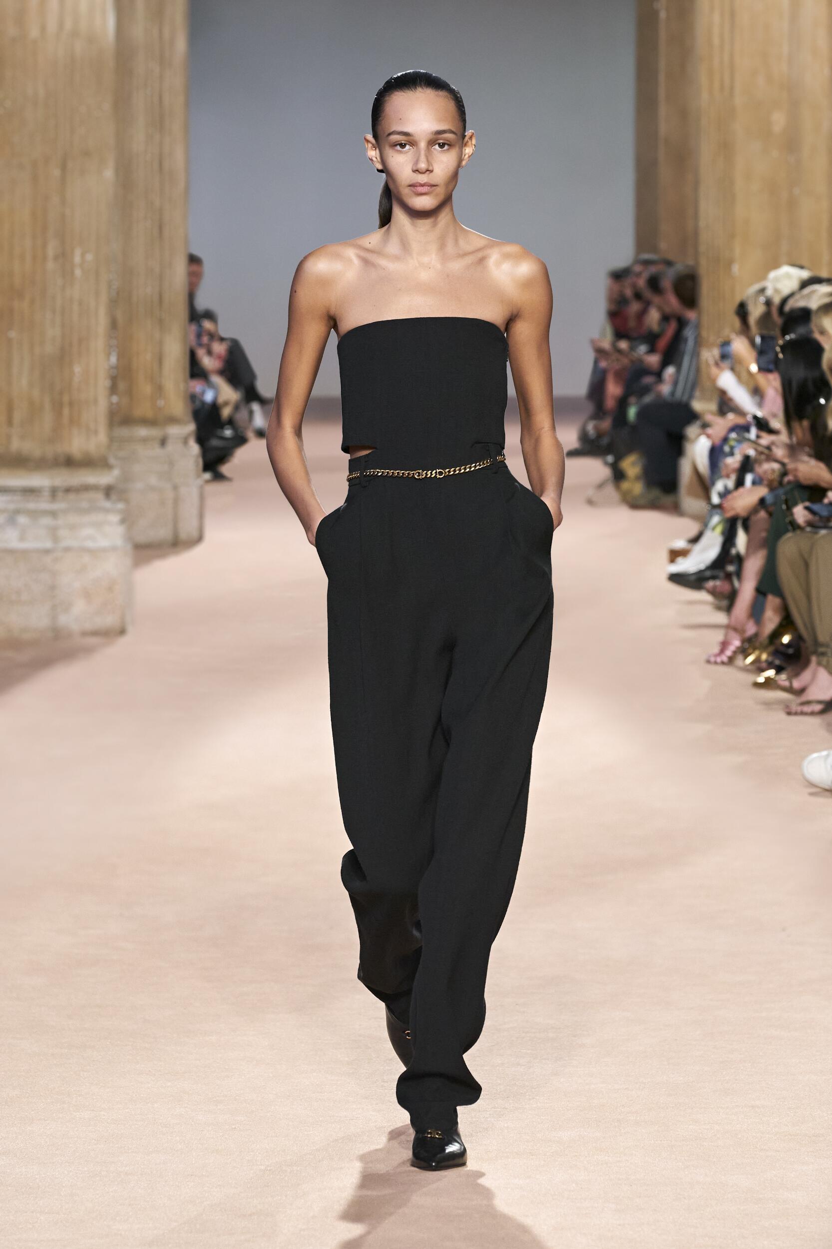 2020 Catwalk Salvatore Ferragamo Woman Fashion Show Winter