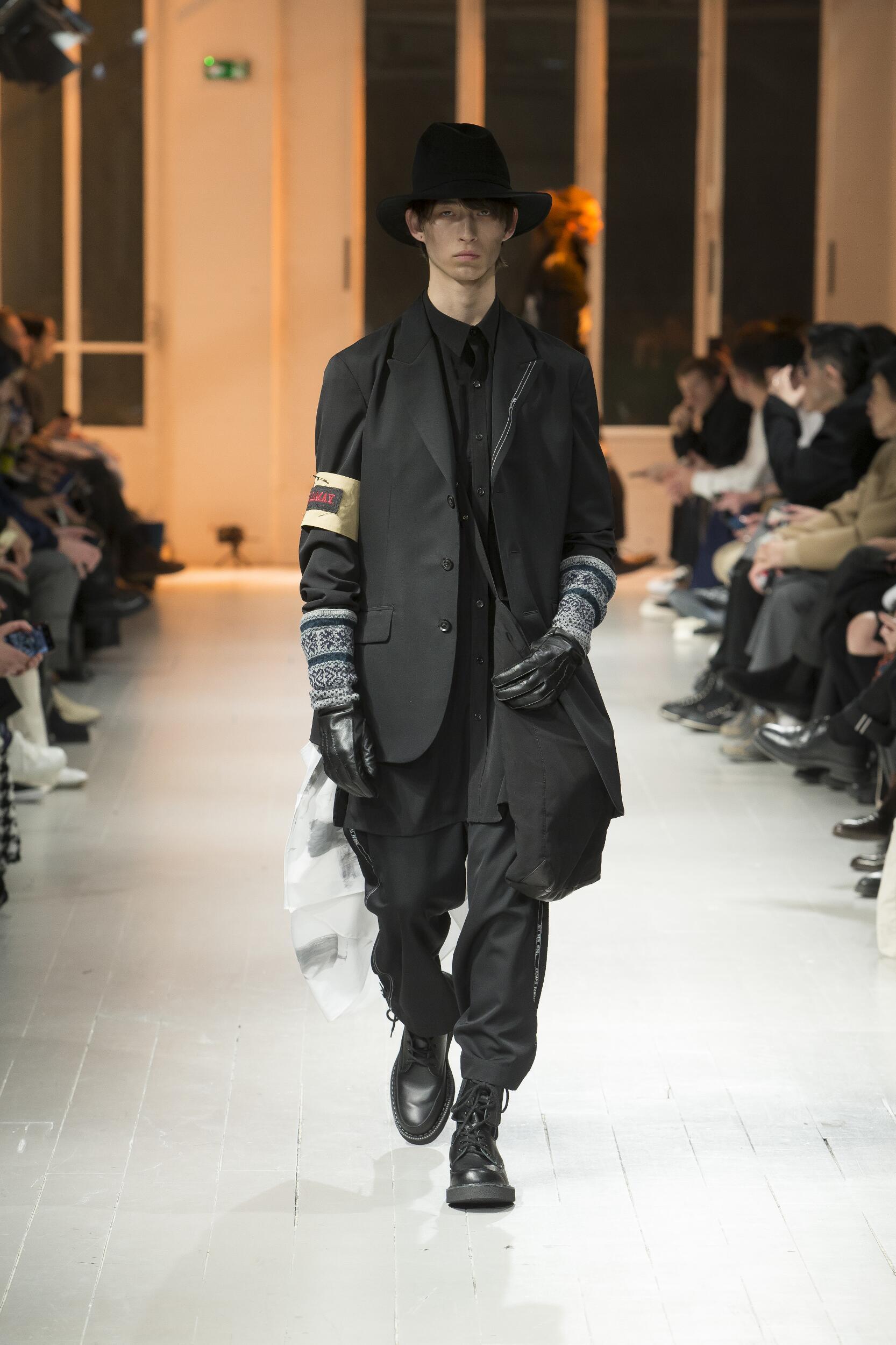 2020 Catwalk Yohji Yamamoto Winter