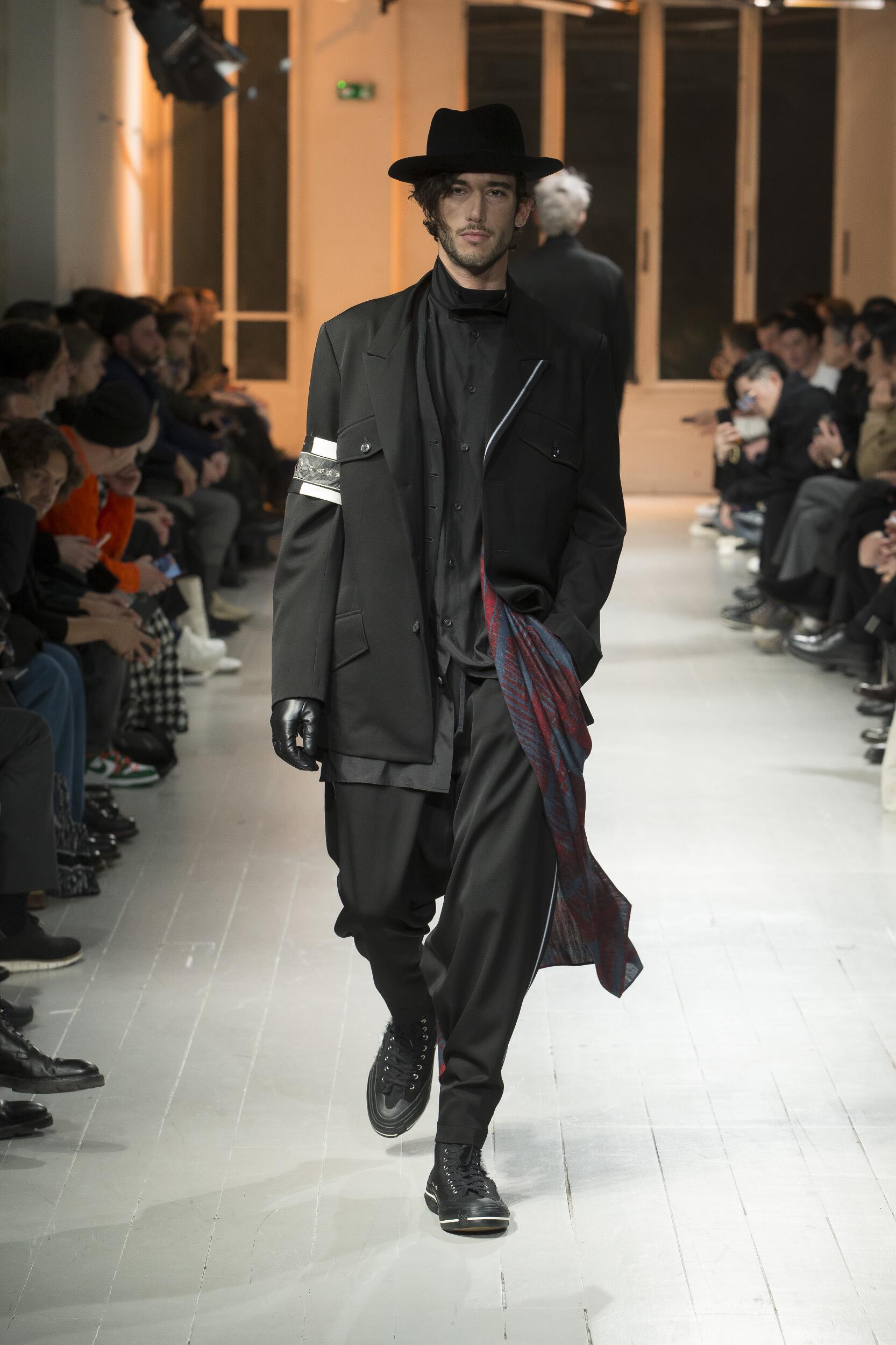 2020 Catwalk Yohji Yamamoto