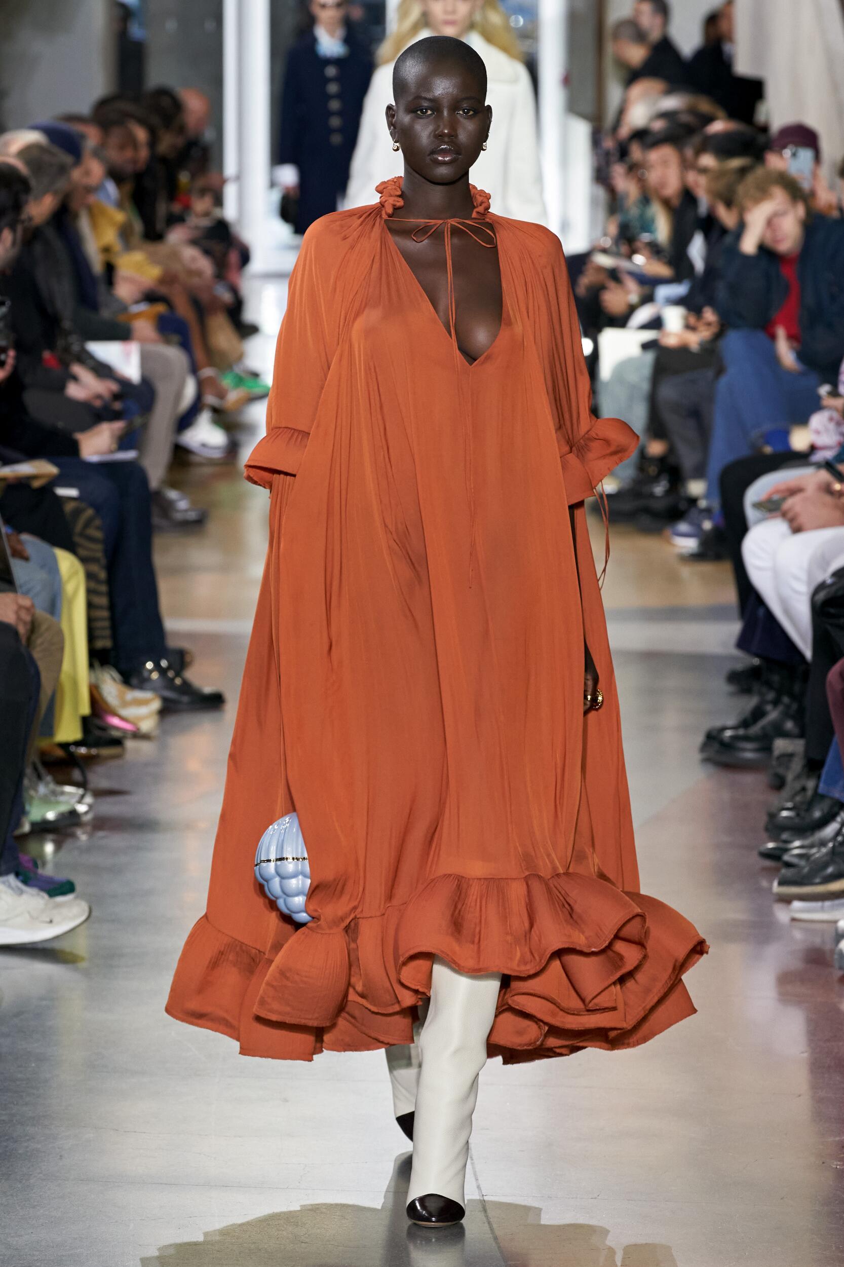 2020 Lanvin Catwalk Paris Fashion Week