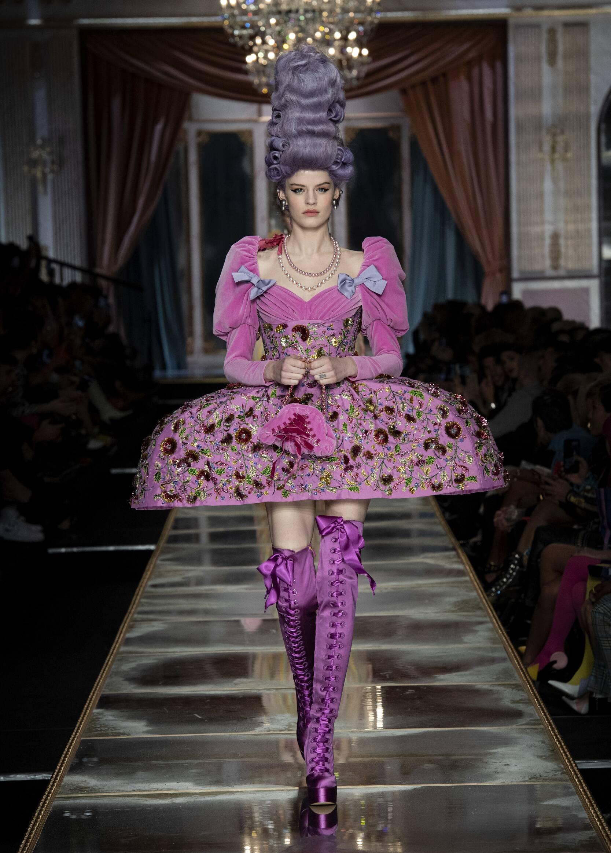 2020 Moschino Catwalk Milan Fashion Week