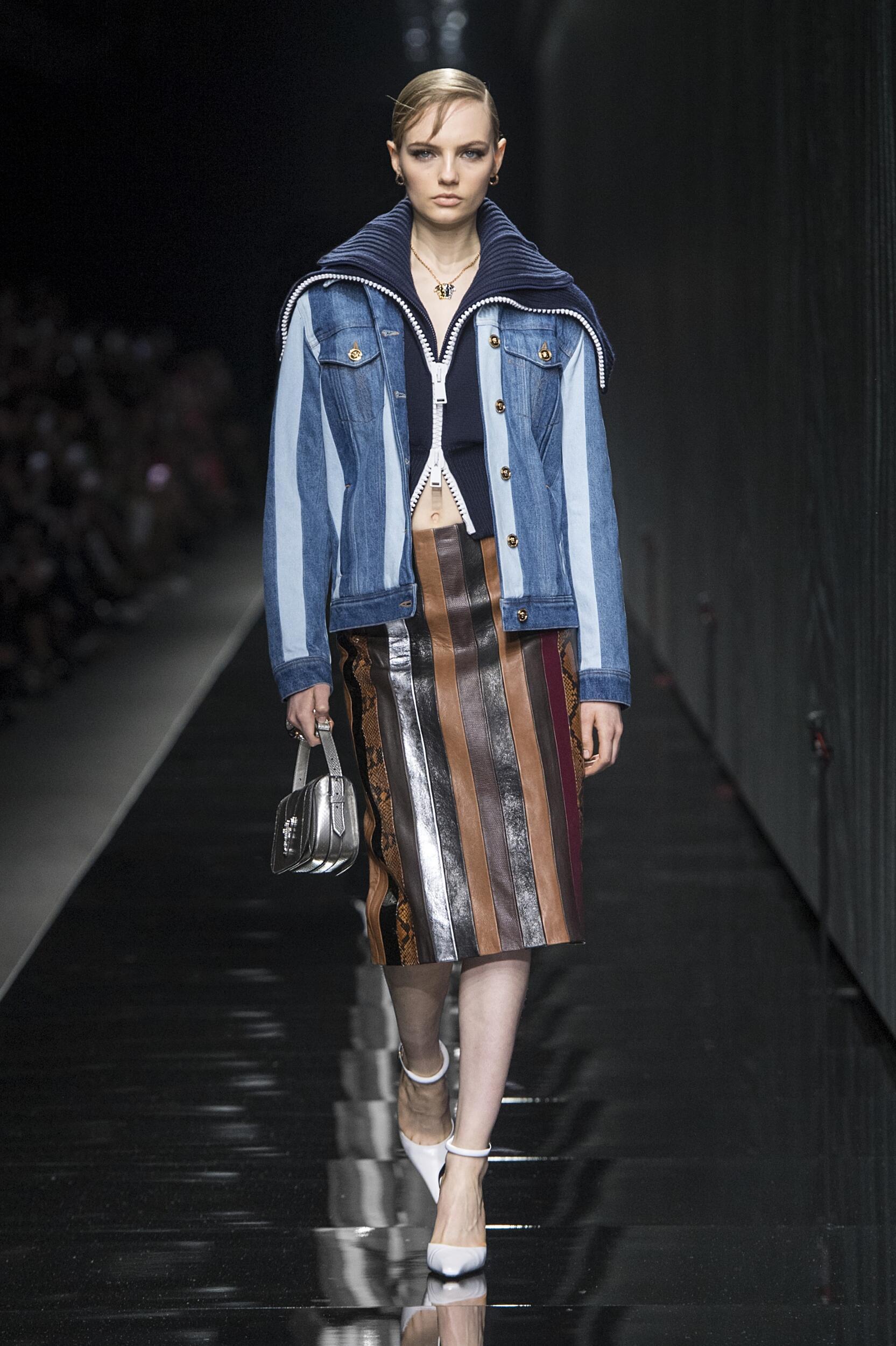 2020 Versace Catwalk Milan Fashion Week