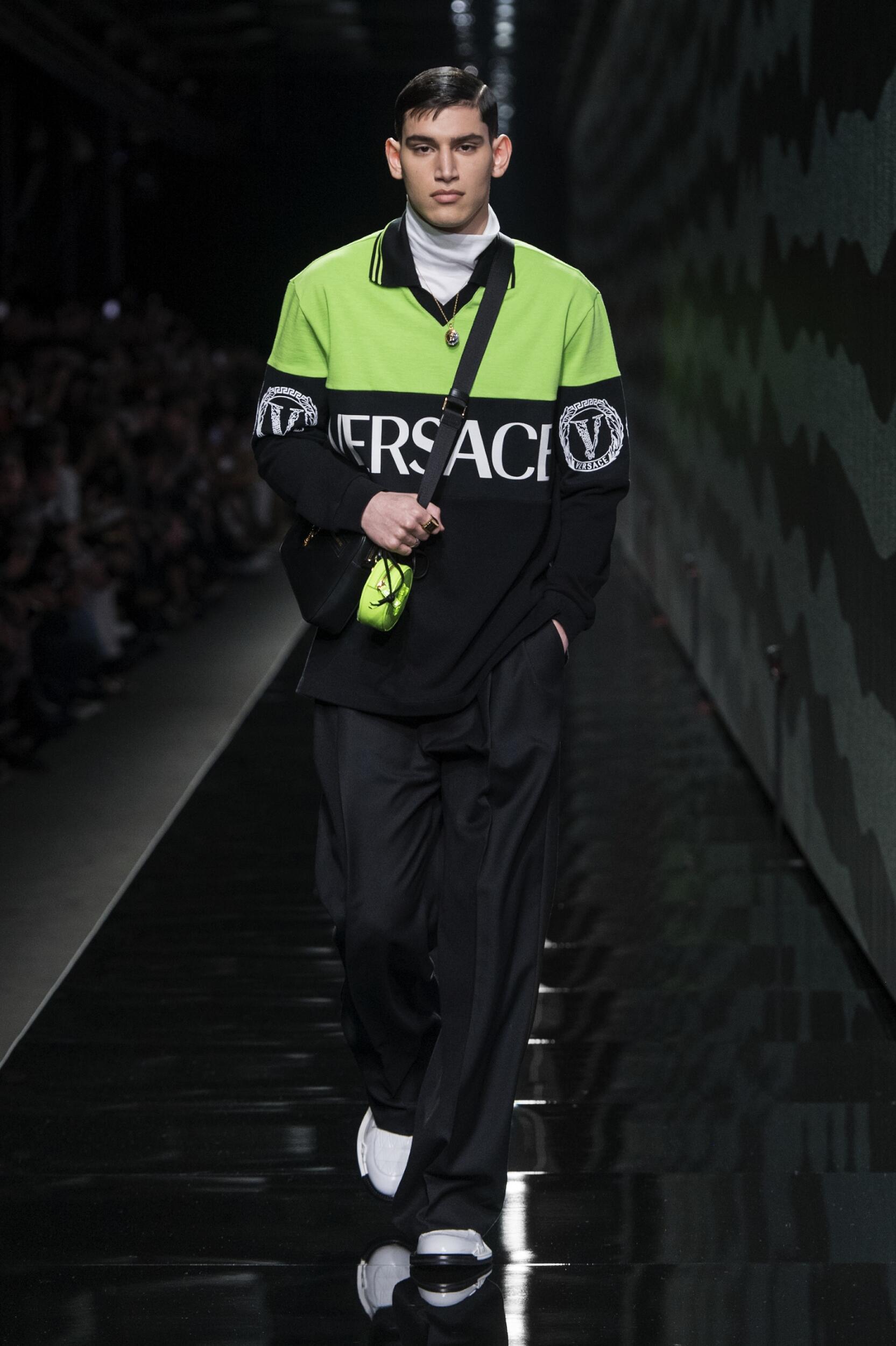 2020 Versace Trends Milan Fashion Week