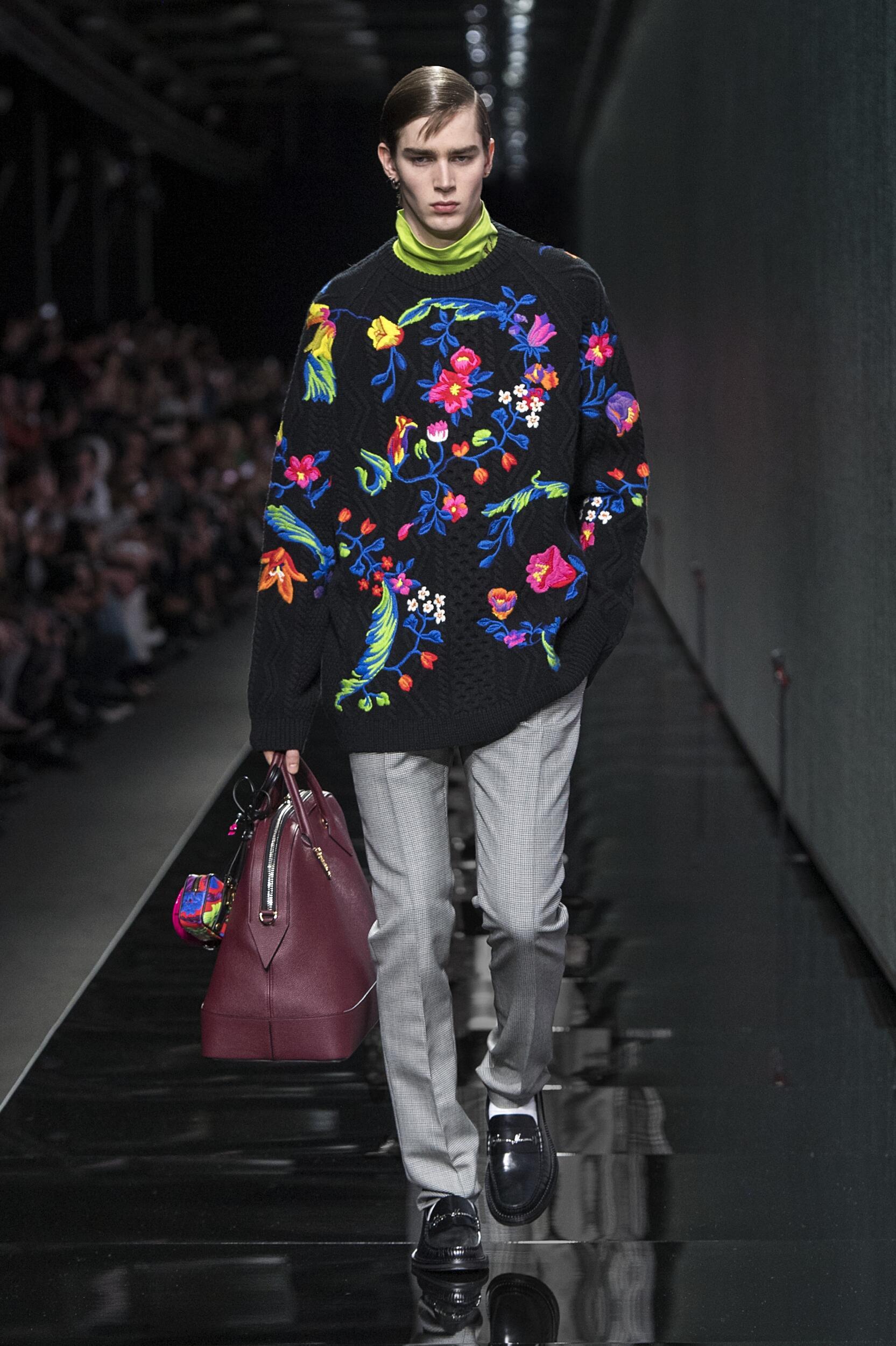 2020 Versace Winter Catwalk
