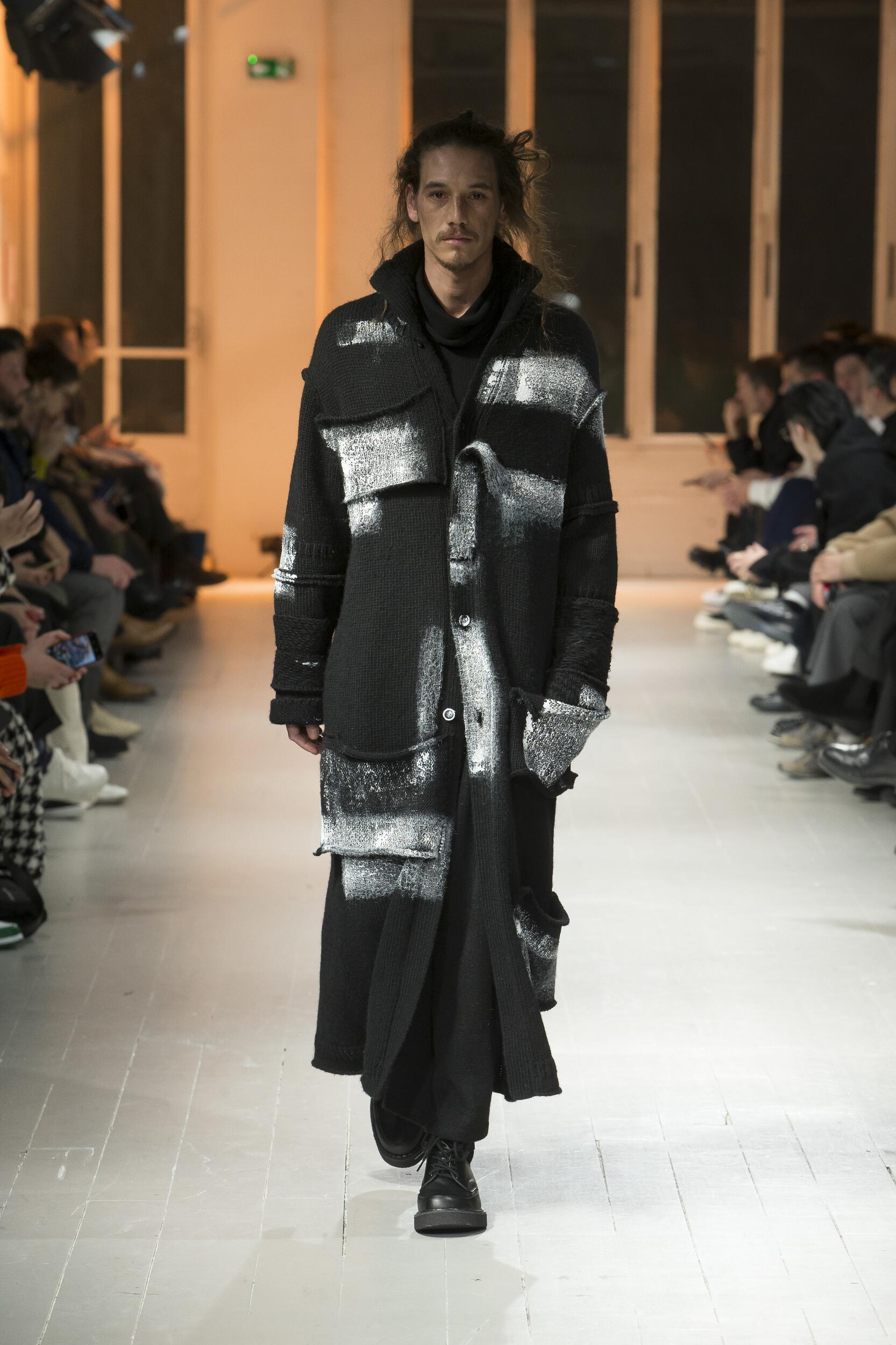 2020 Yohji Yamamoto Fall Catwalk