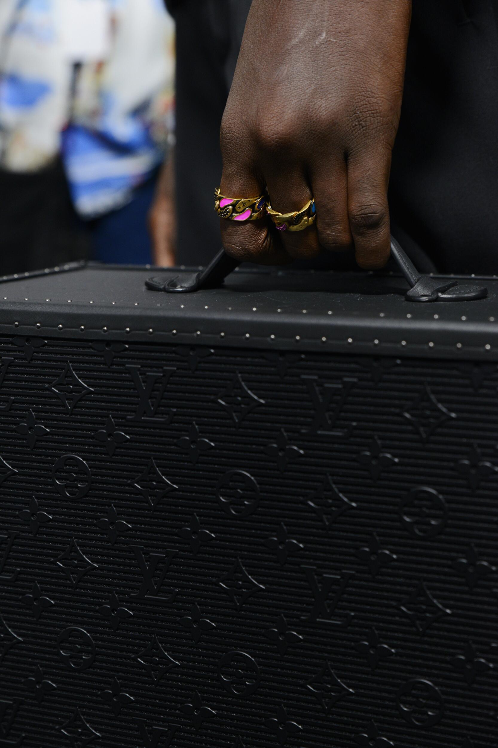 Backstage Louis Vuitton Bag Detail 2020