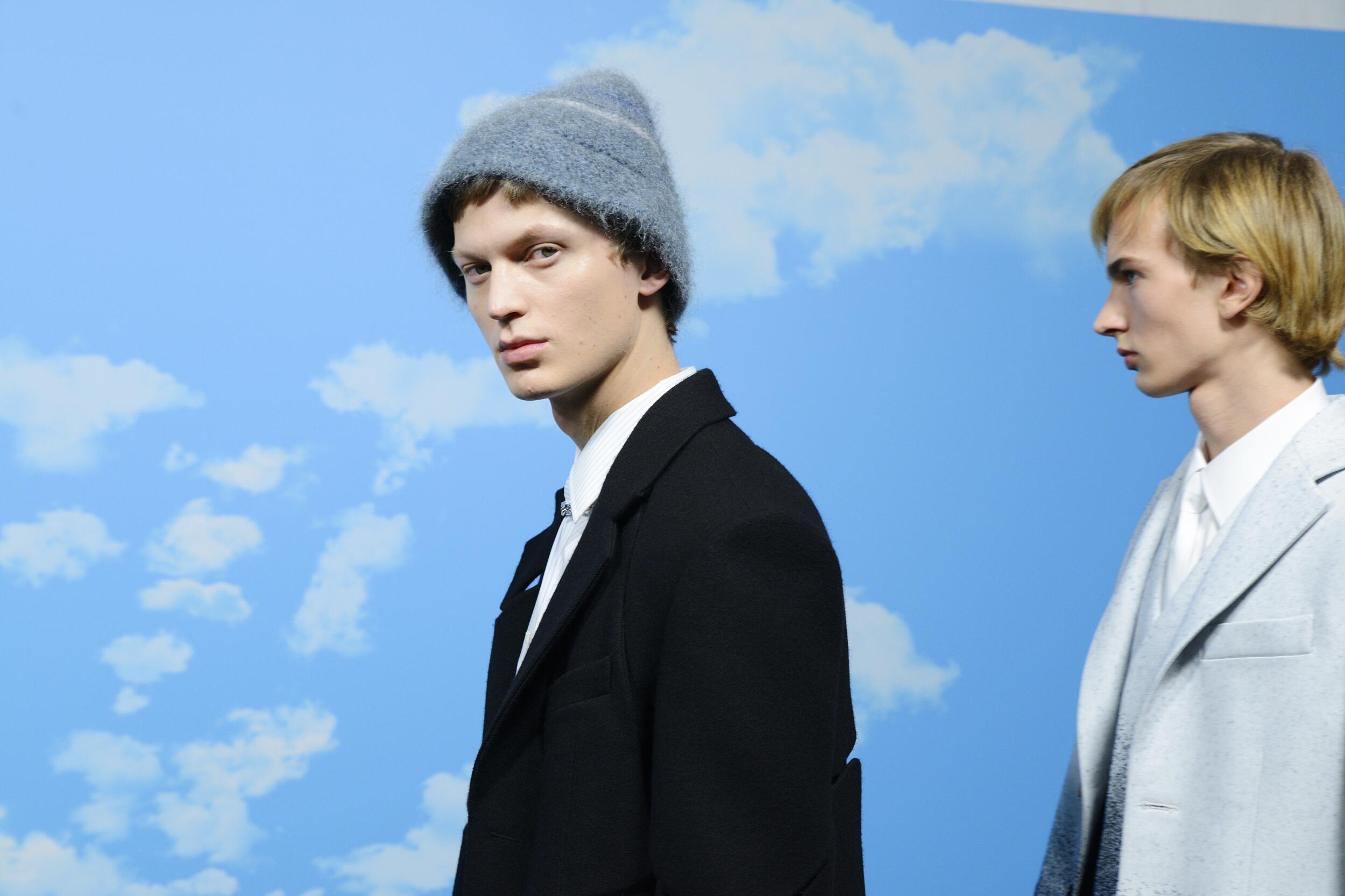 Backstage Louis Vuitton Fall Winter 2020