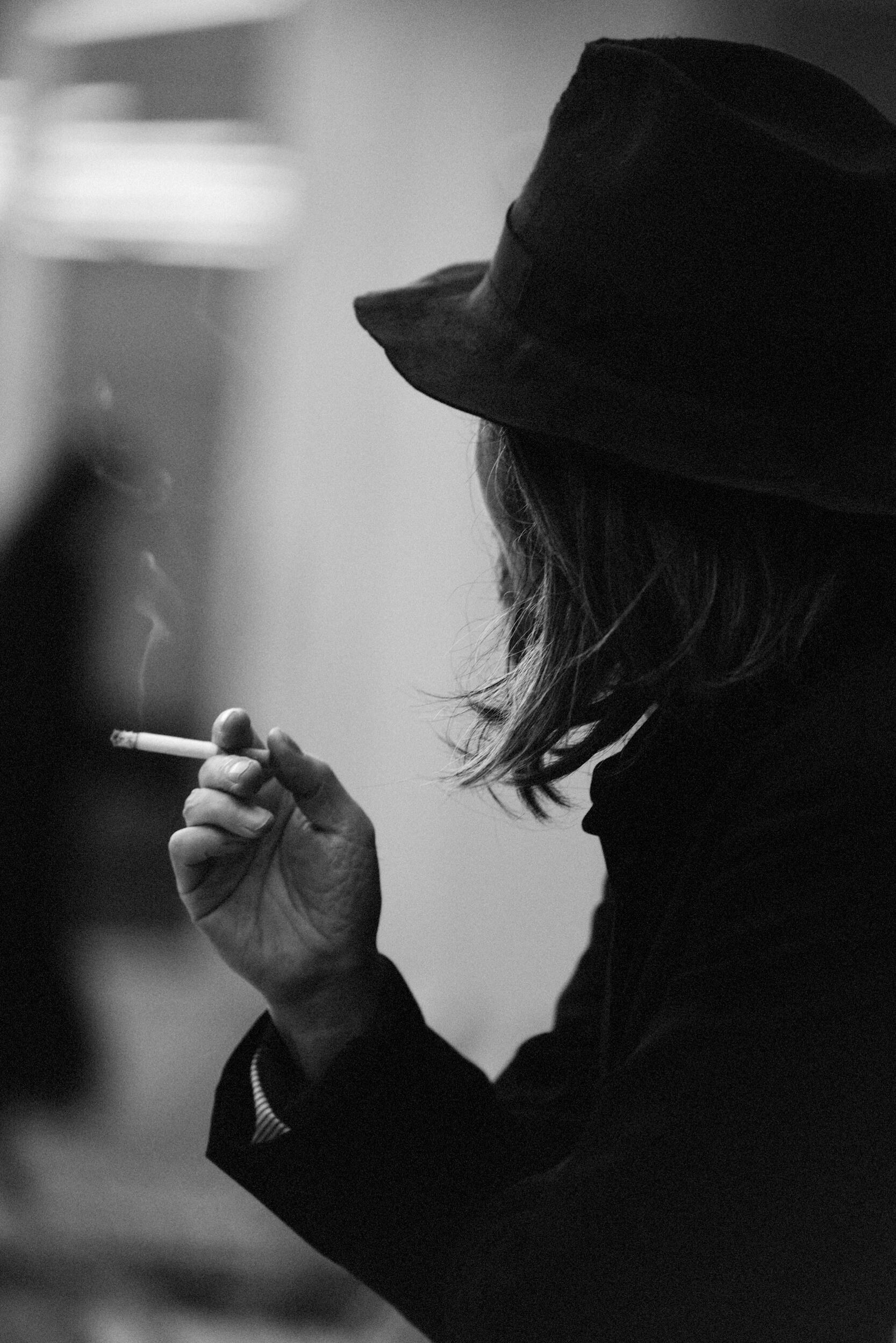 Backstage Yohji Yamamoto