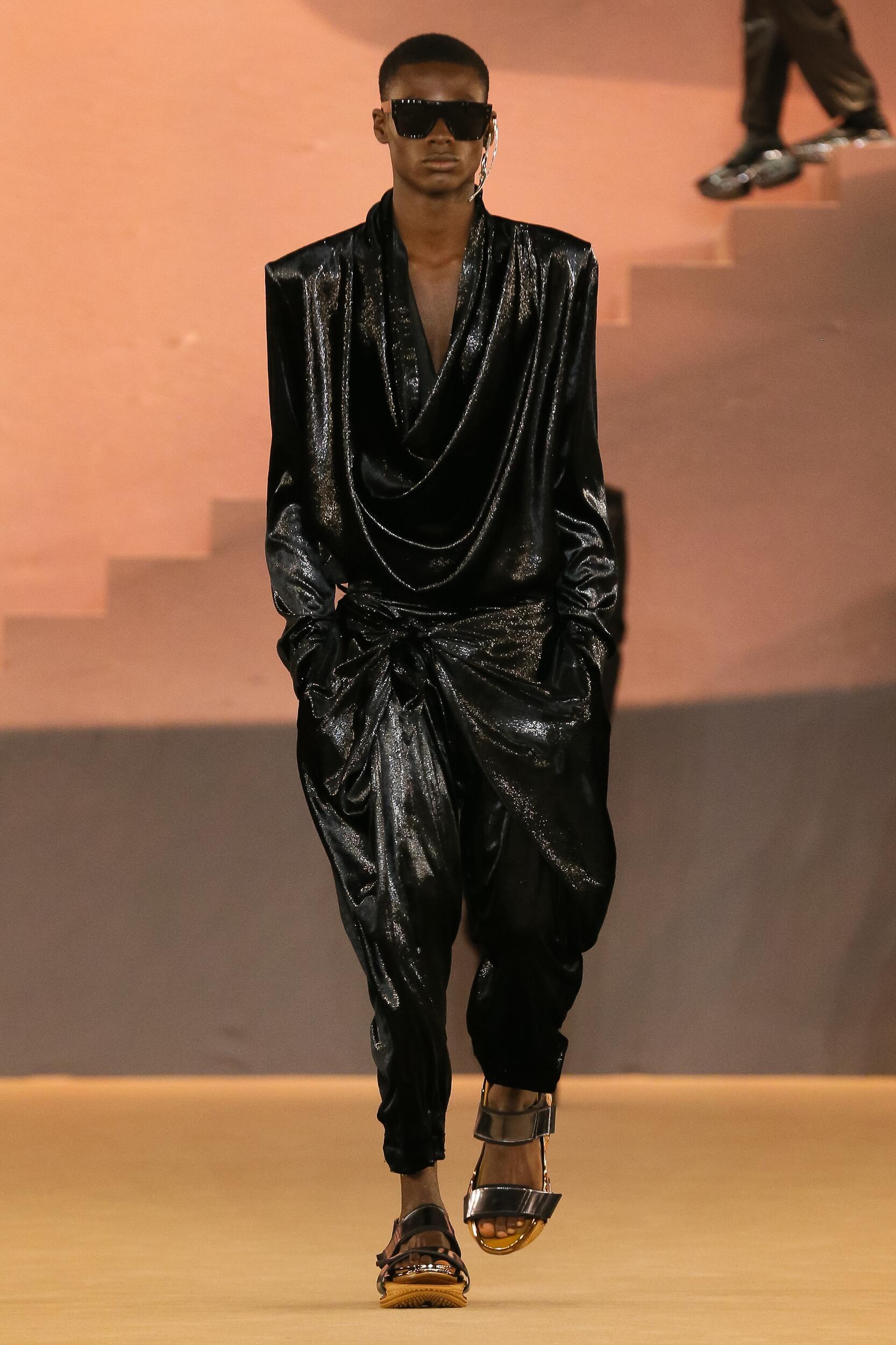 Balmain Menswear Collection Trends Winter