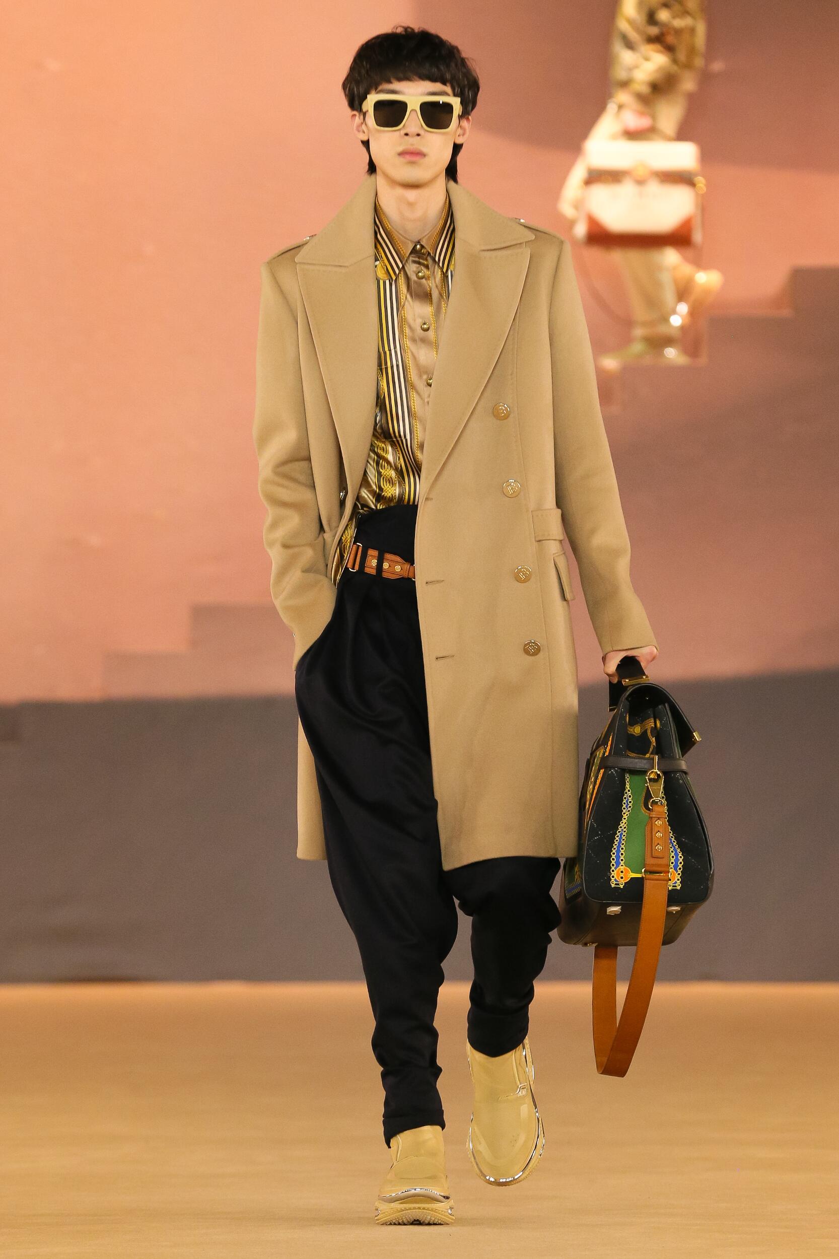 Balmain Menswear Fashion Show