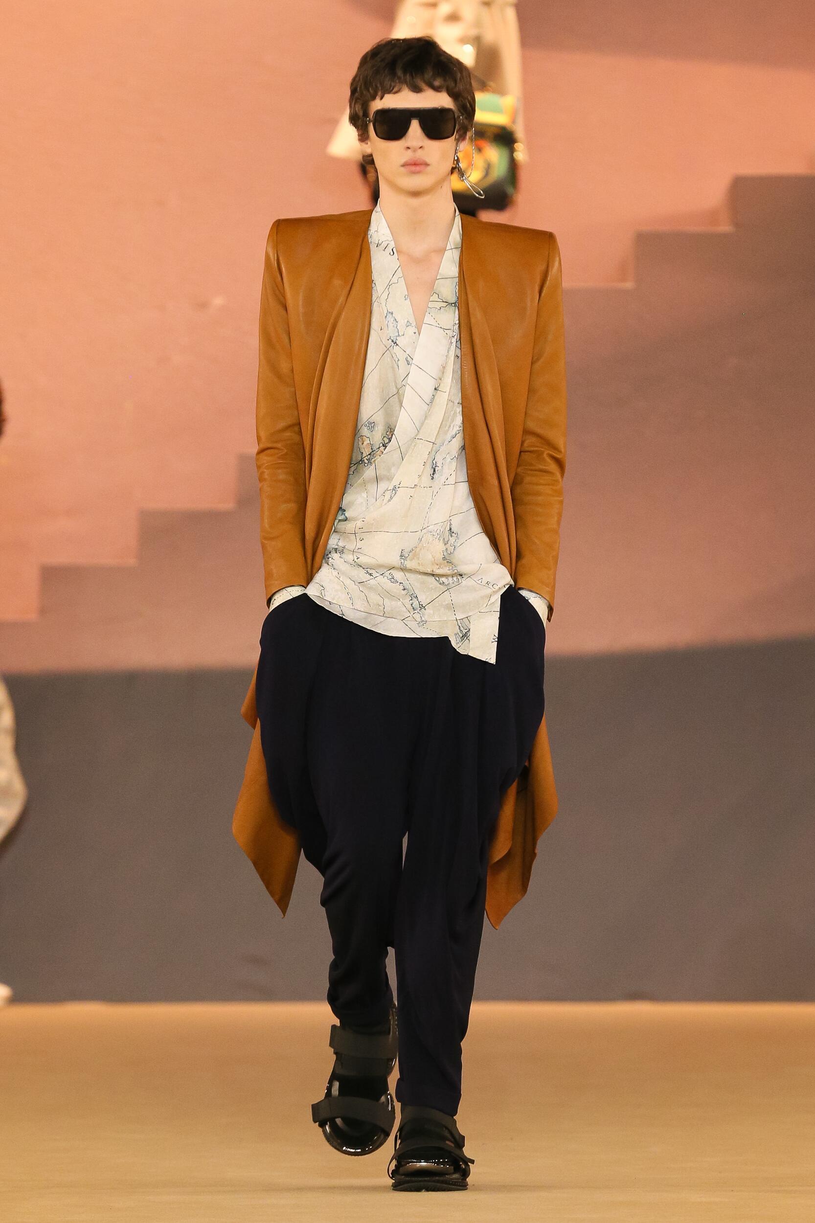 Balmain Paris Fashion Week Menswear Trends
