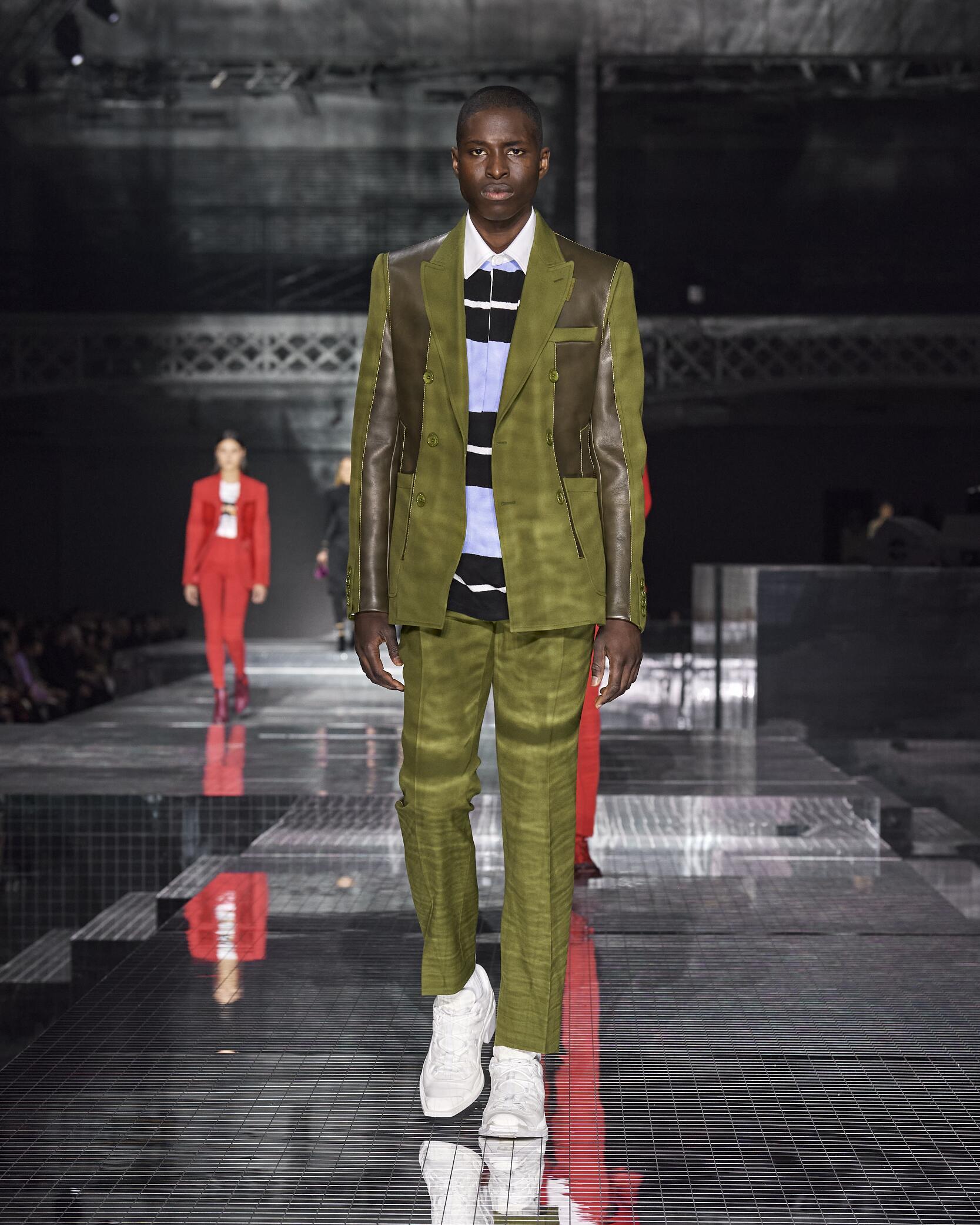 Burberry London Fashion Week Menswear Trends 2020