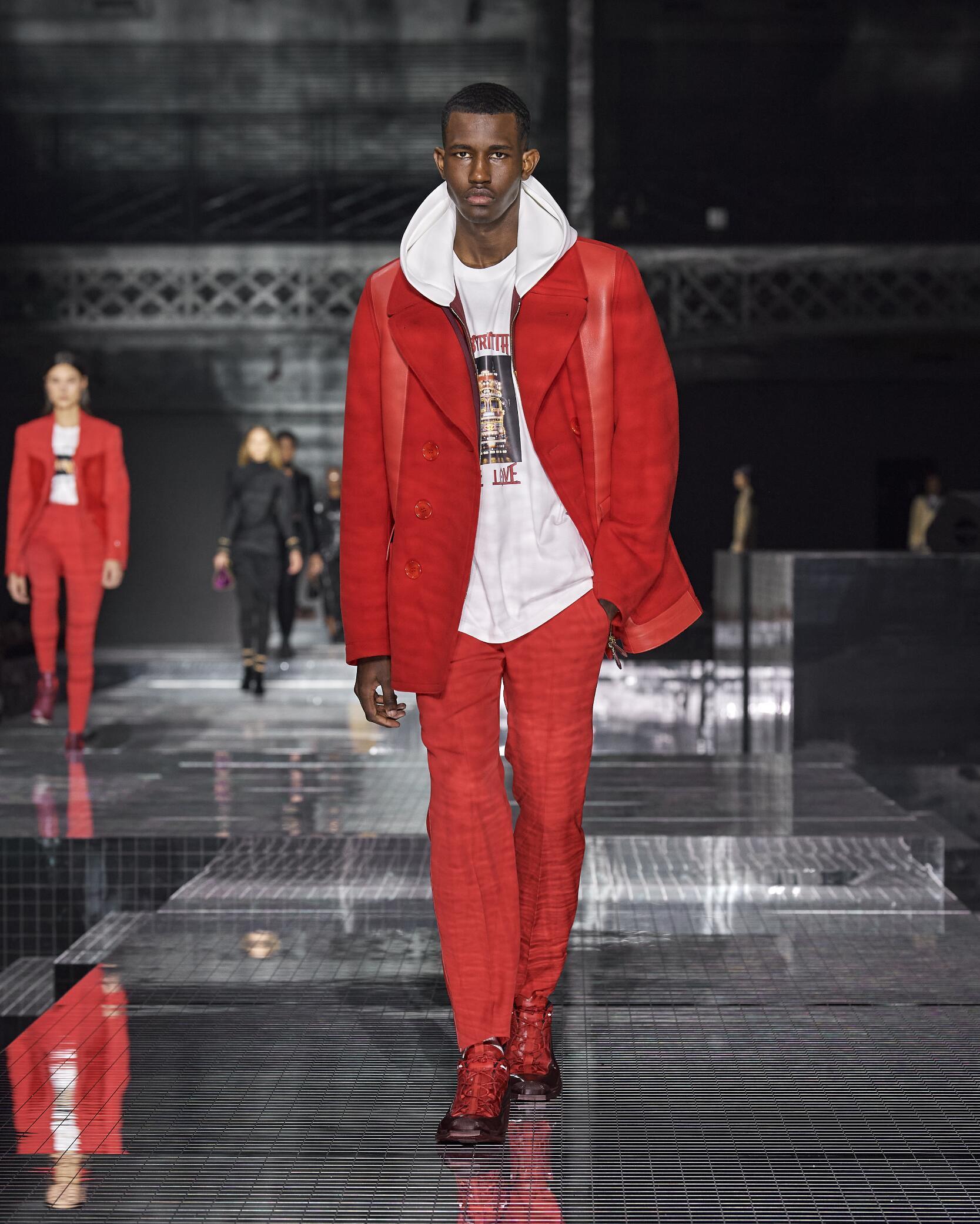 Burberry Menswear Fashion Show 2020
