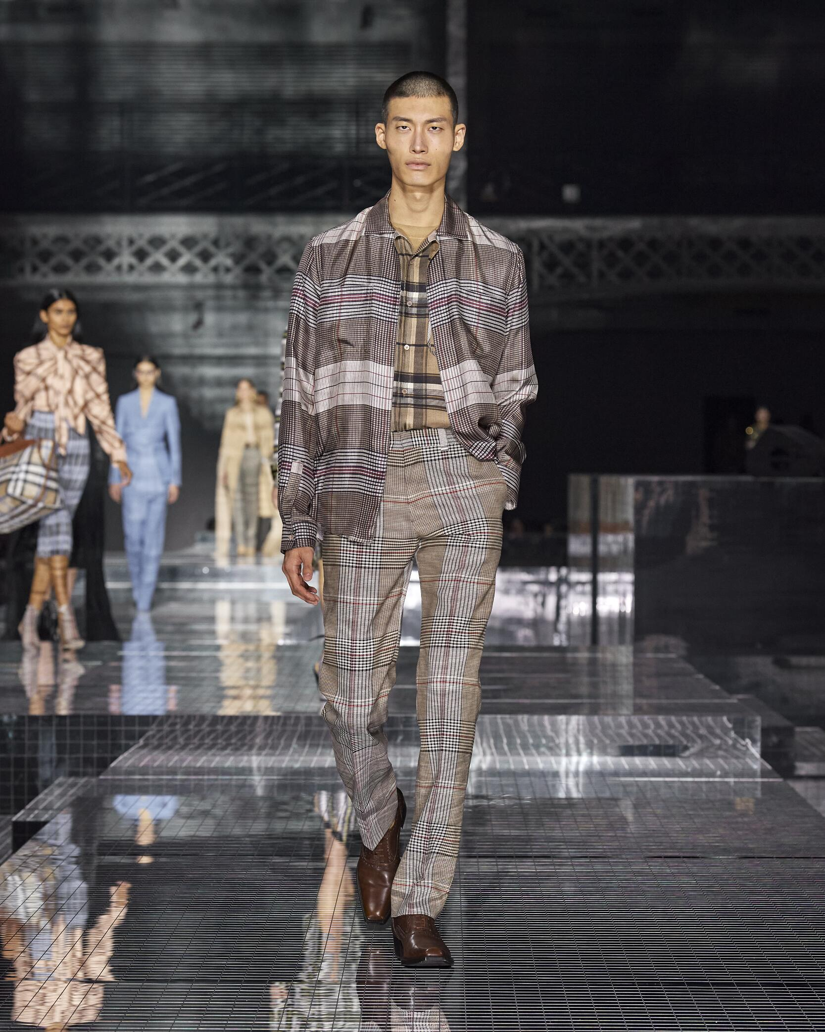 Burberry Menswear Fashion Show