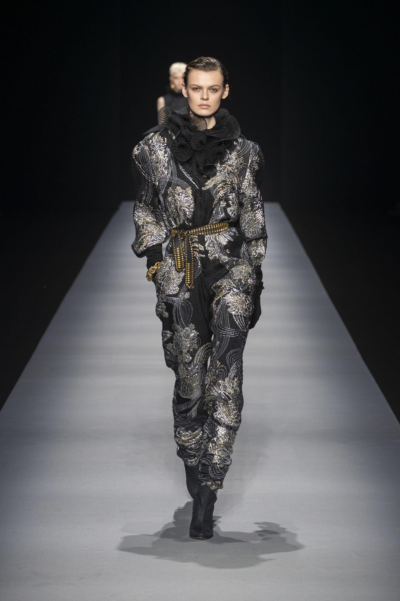 Catwalk Alberta Ferretti Woman Fashion Show Winter 2020