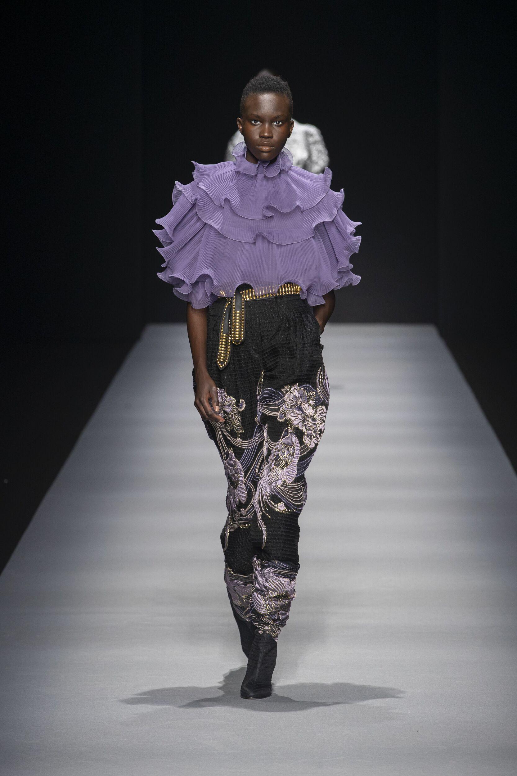 Catwalk Alberta Ferretti Women Fashion Show Winter 2020