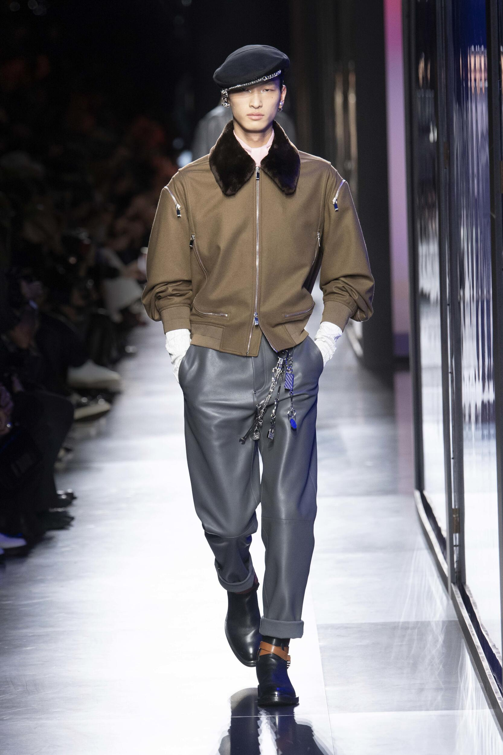 Catwalk Dior Men Fashion Show Winter 2020