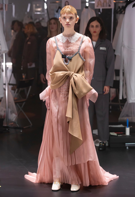 Catwalk Gucci Women Fashion Show Winter 2020