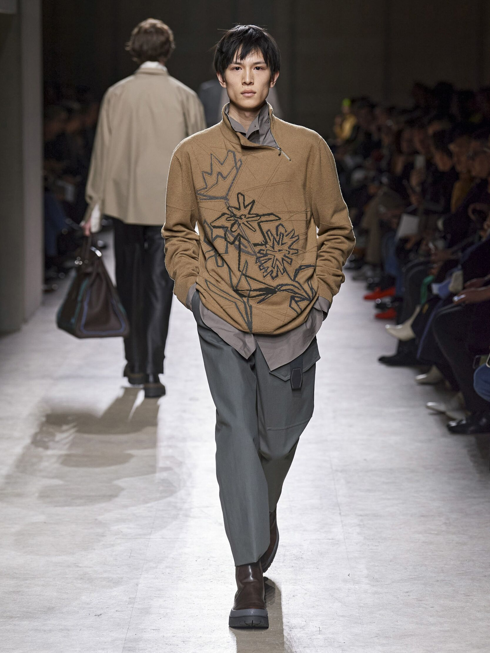 Catwalk Hermès Man Fashion Show Winter 2020