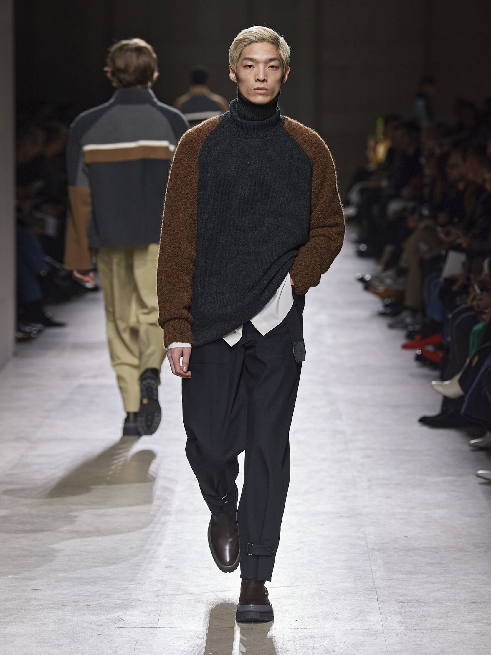 Catwalk Hermès Men Fashion Show Winter 2020